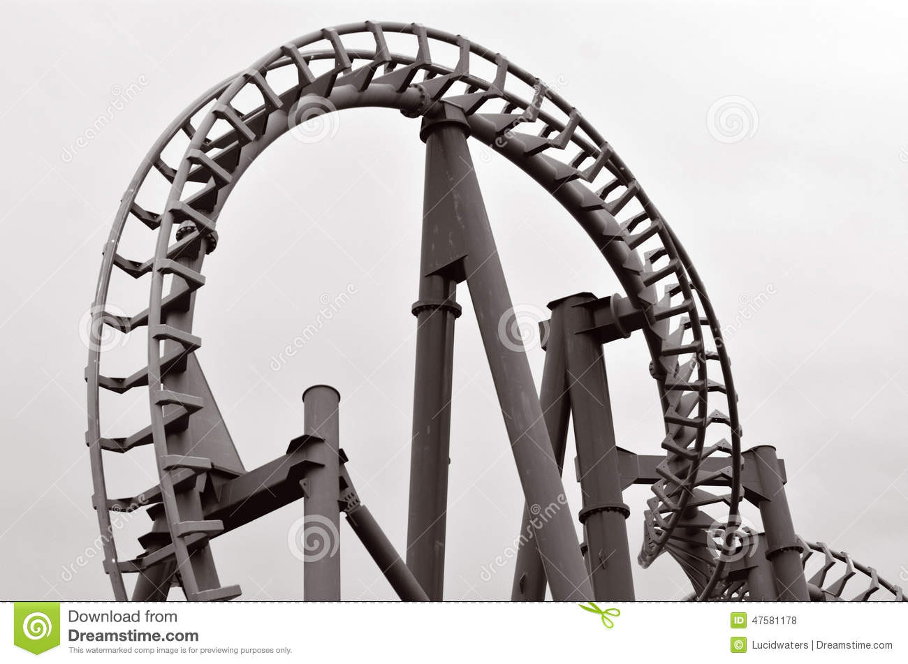how to draw a roller coaster track