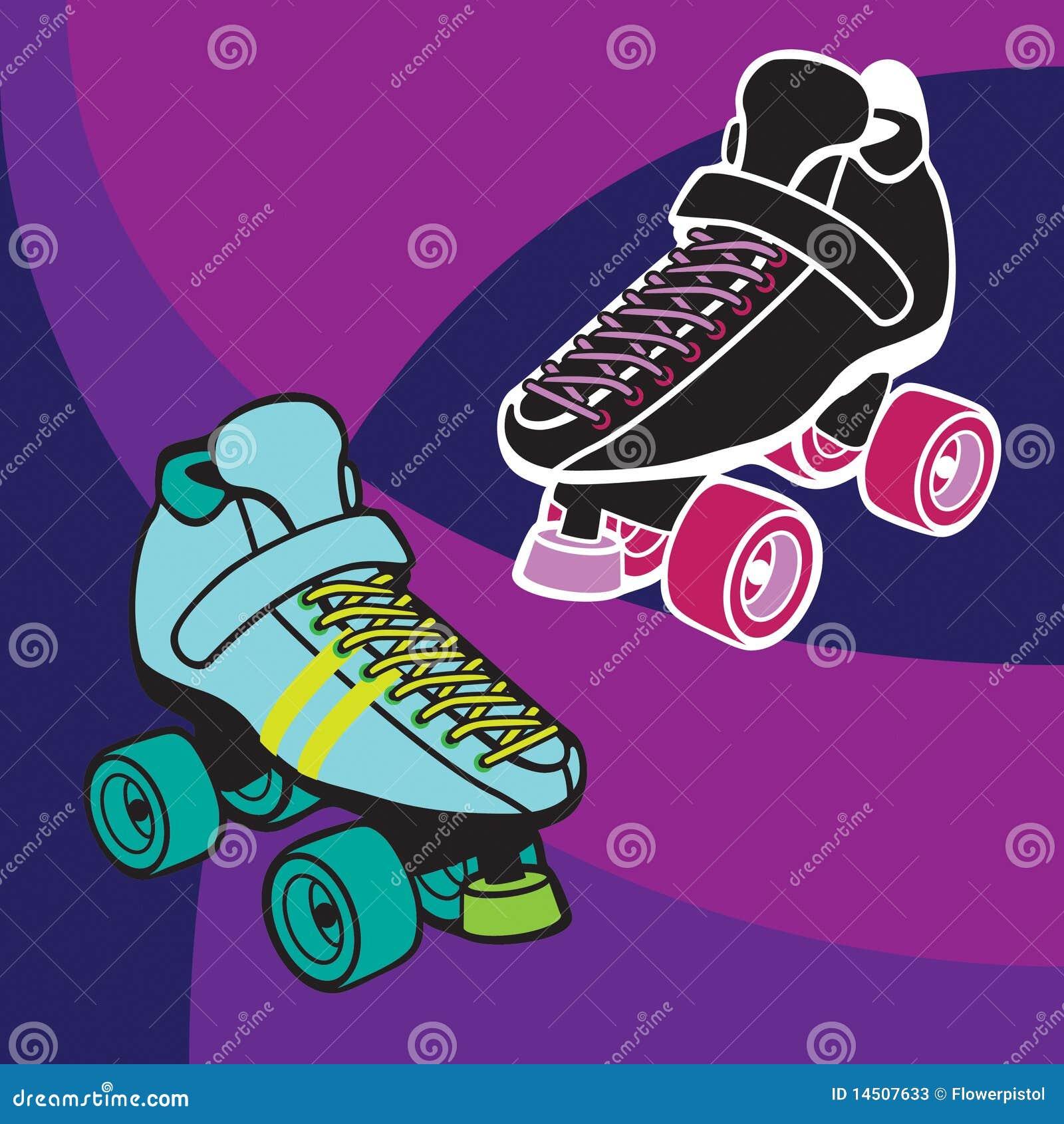 Roller Derby Skates st... Roller Derby Skate Drawing