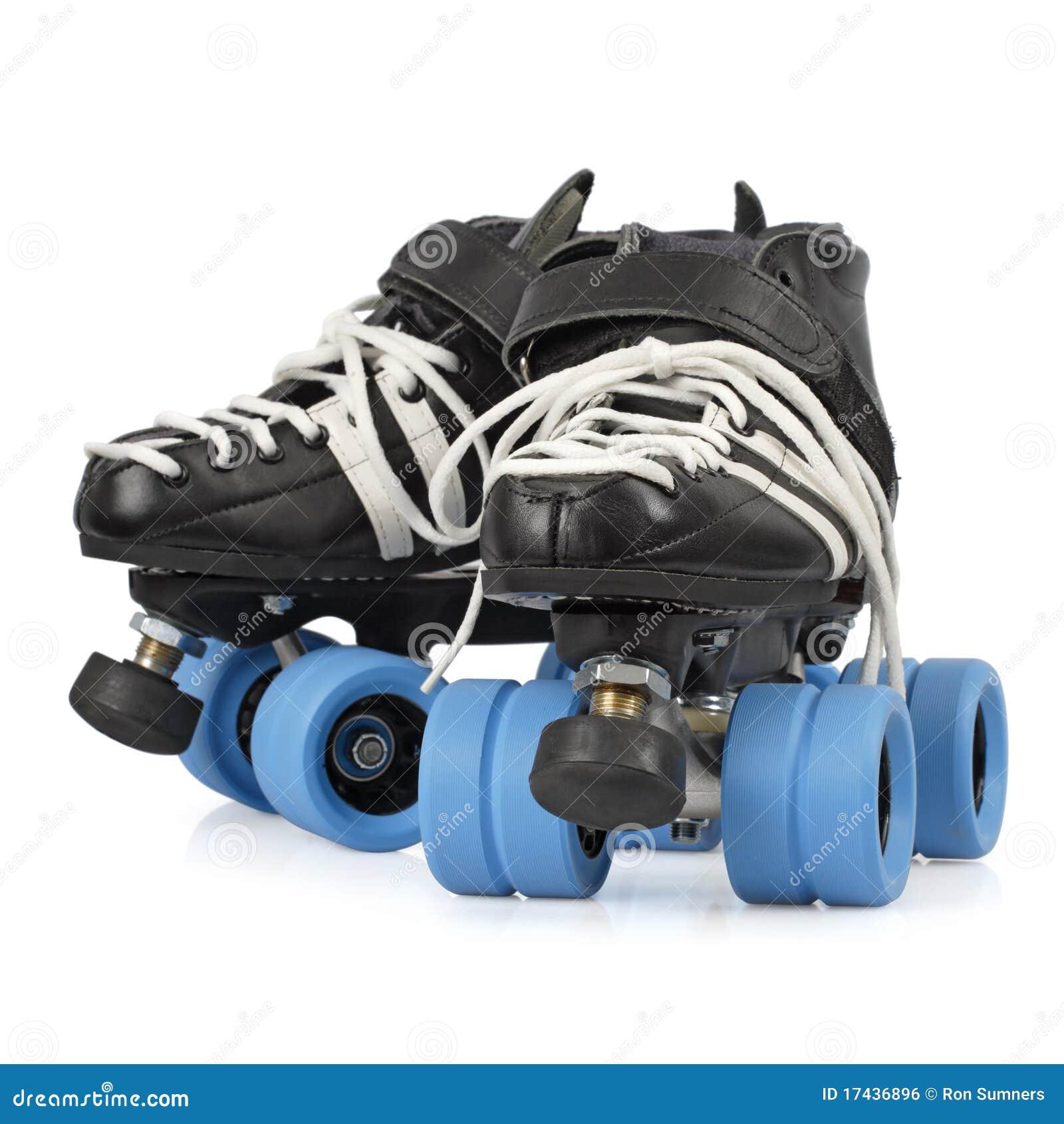 Roller skates for roller derby - Roller Derby Skates Isolated
