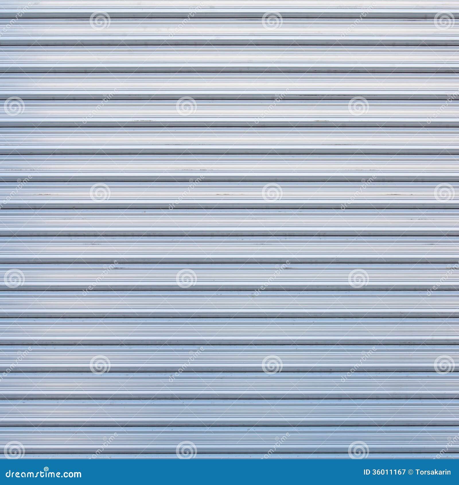 door illuminated metallic roller shutter ...