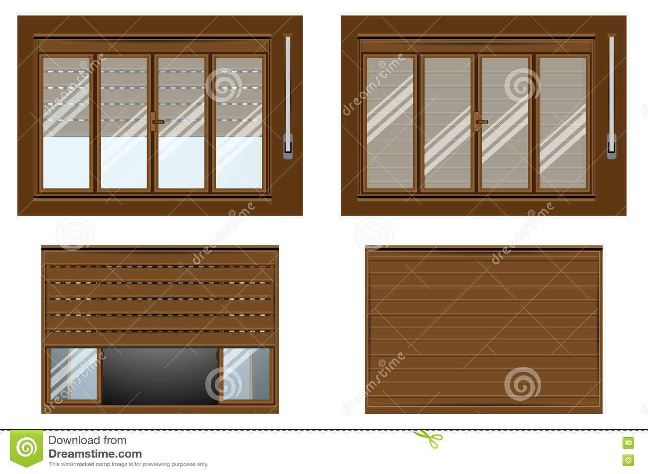 Window whith sill isometric flat icon 3d vector cartoon for Window plastic