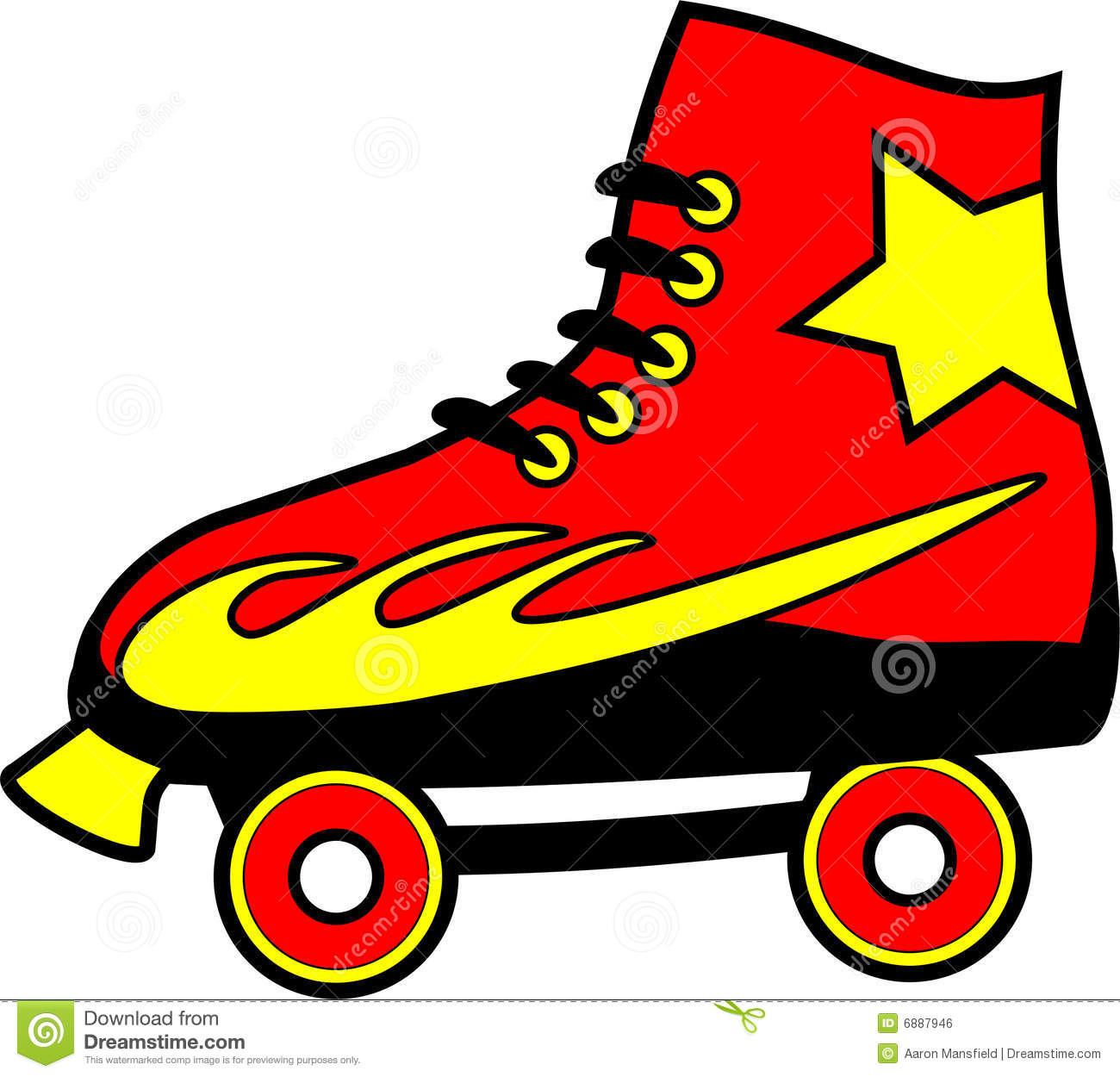 Roller Skate Royalty Free Stock Image - Image: 6887946