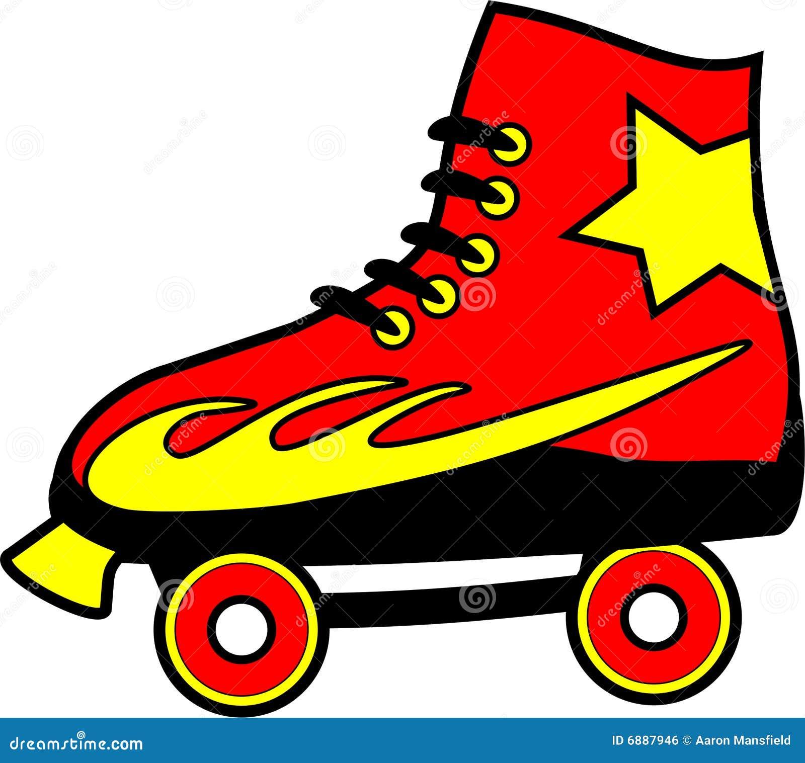 roller skate stock illustrations 1 974 roller skate stock rh dreamstime com free download roller skate clip art free roller skate clip art