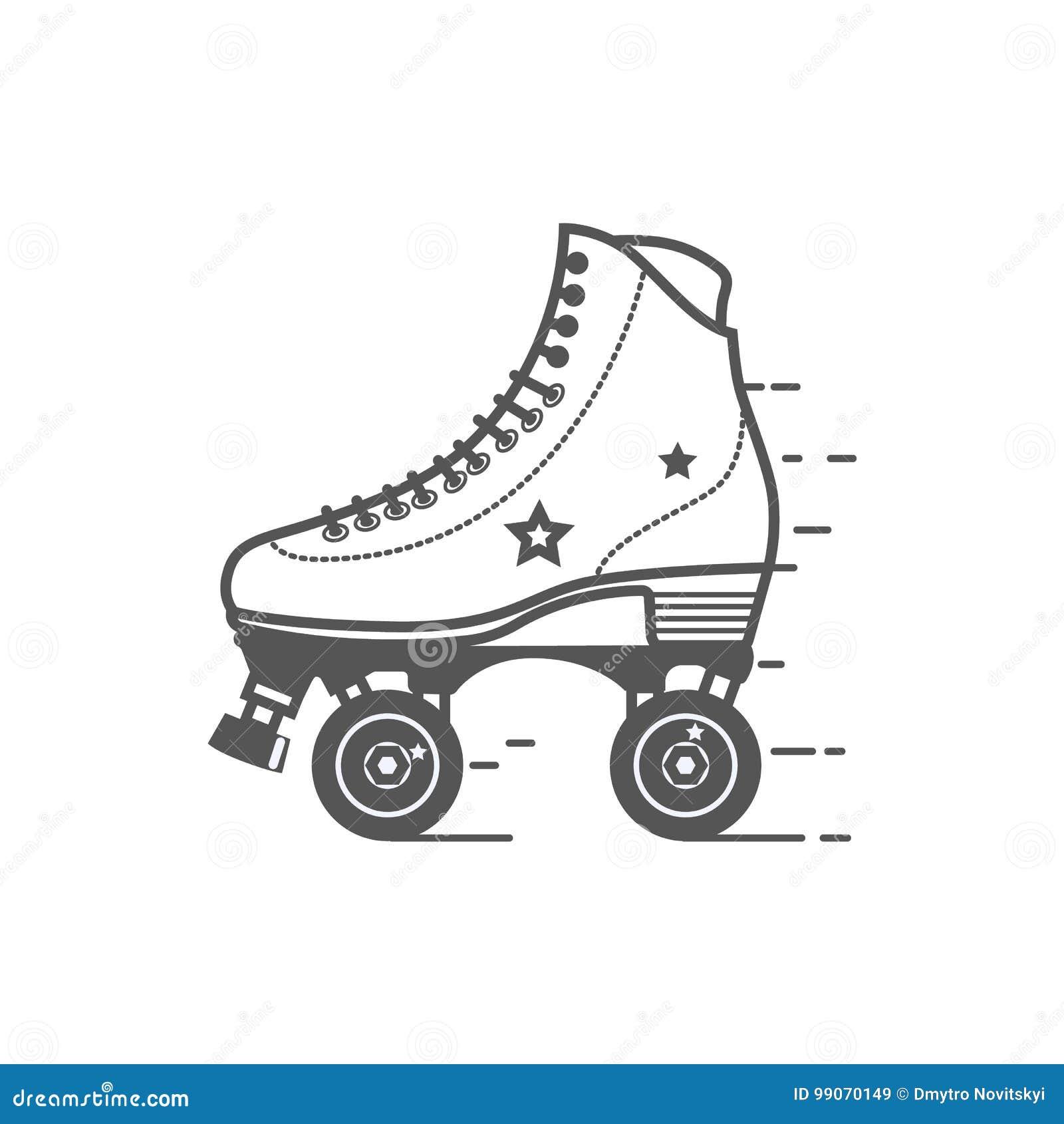 roller skate stock illustrations 2171 roller skate stock illustrations vectors clipart dreamstime