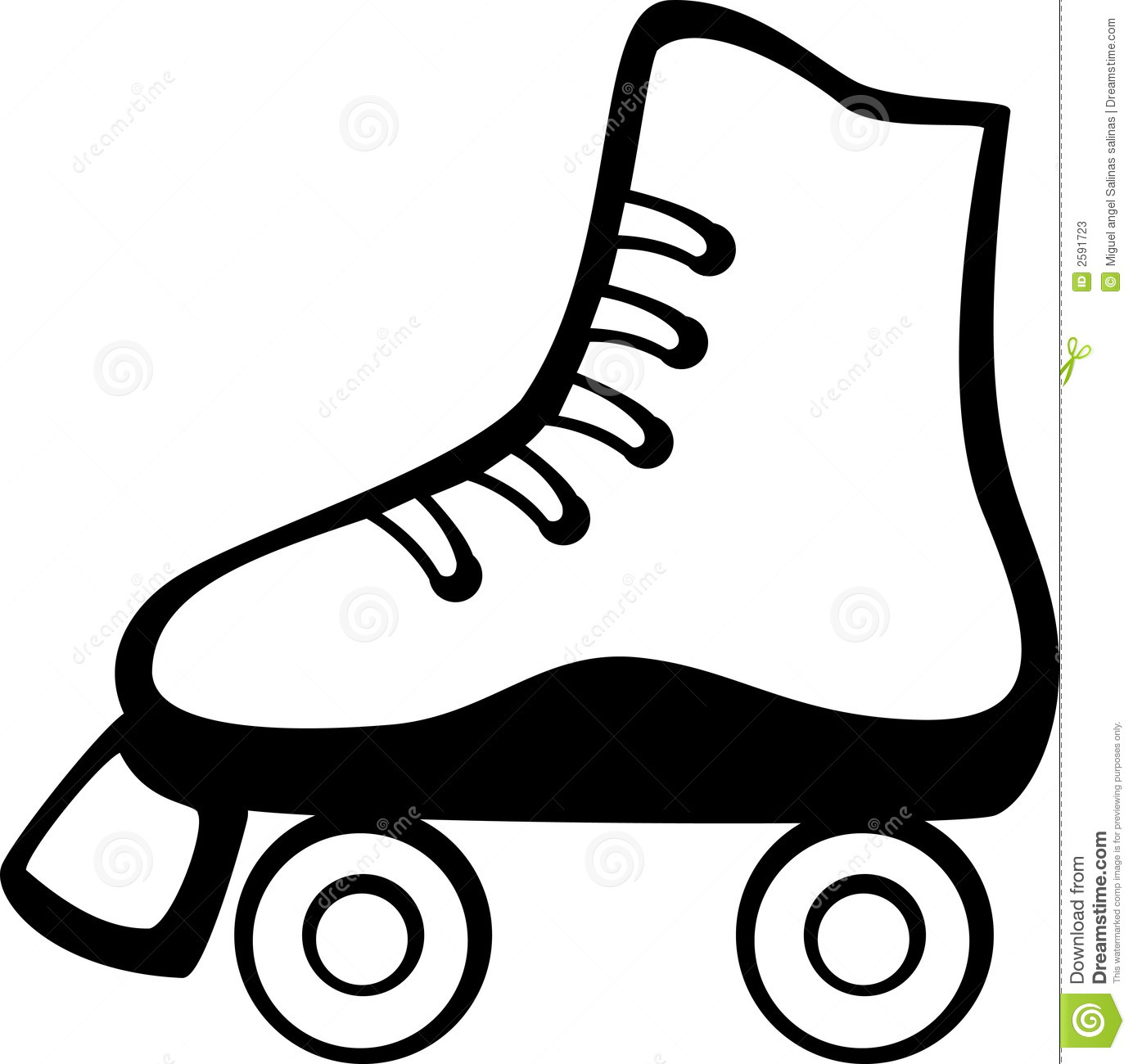 roller skate stock illustrations 2 072 roller skate stock rh dreamstime com skating clipart images skating clipart free