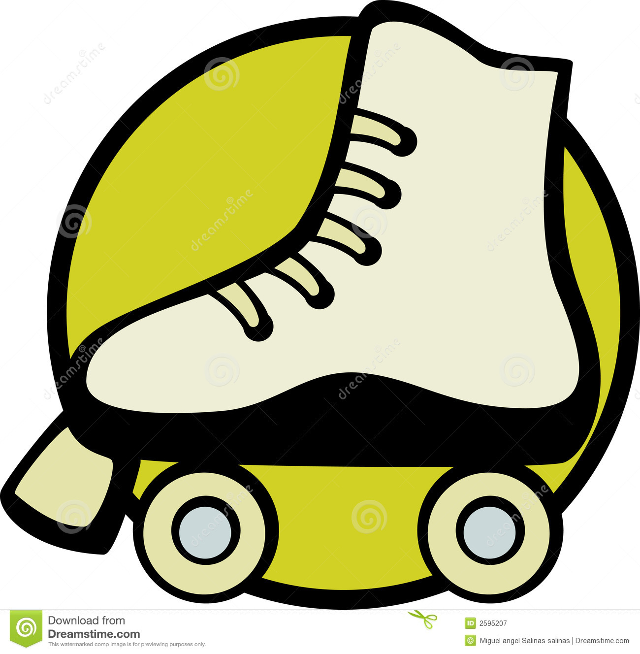 Roller Skate Vector Illustration Royalty Free Stock Photography ...