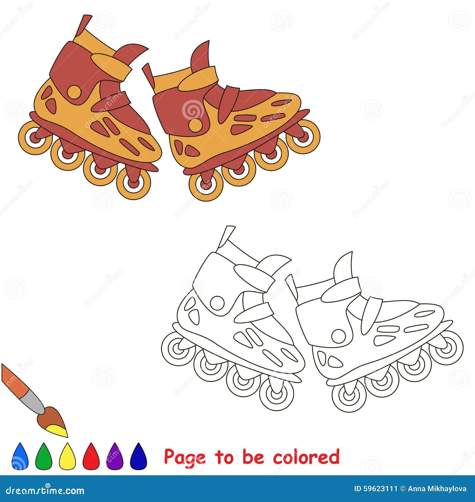 Roller skates book - Roller Skates Kid Children Game
