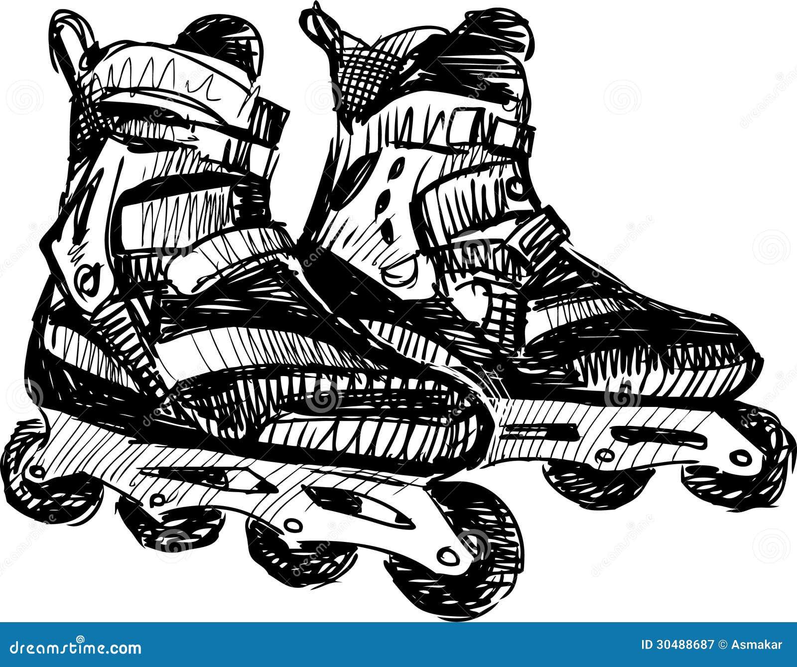 hockey roller blades