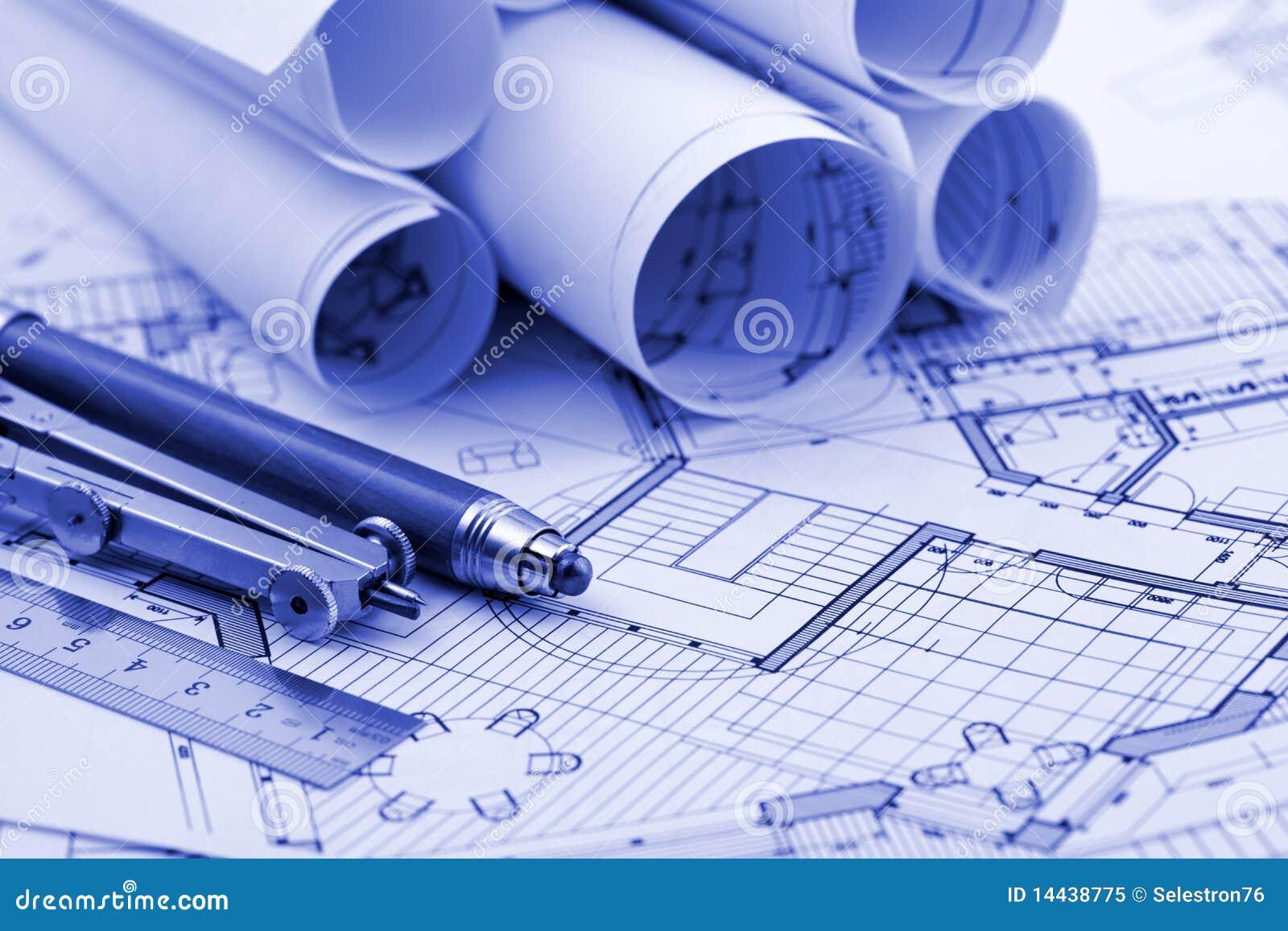 Rolls architecture blueprint work tools 14438775 jpg 1300 215 957