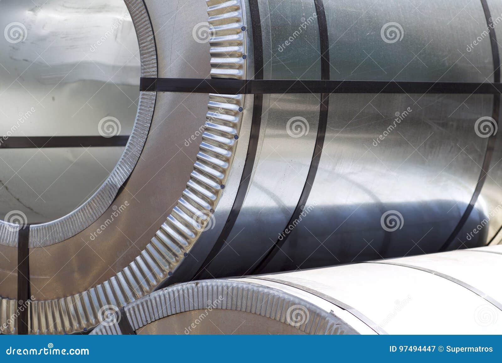 Rolls d acier galvanisé laminé à froid avec le revêtement en polymère