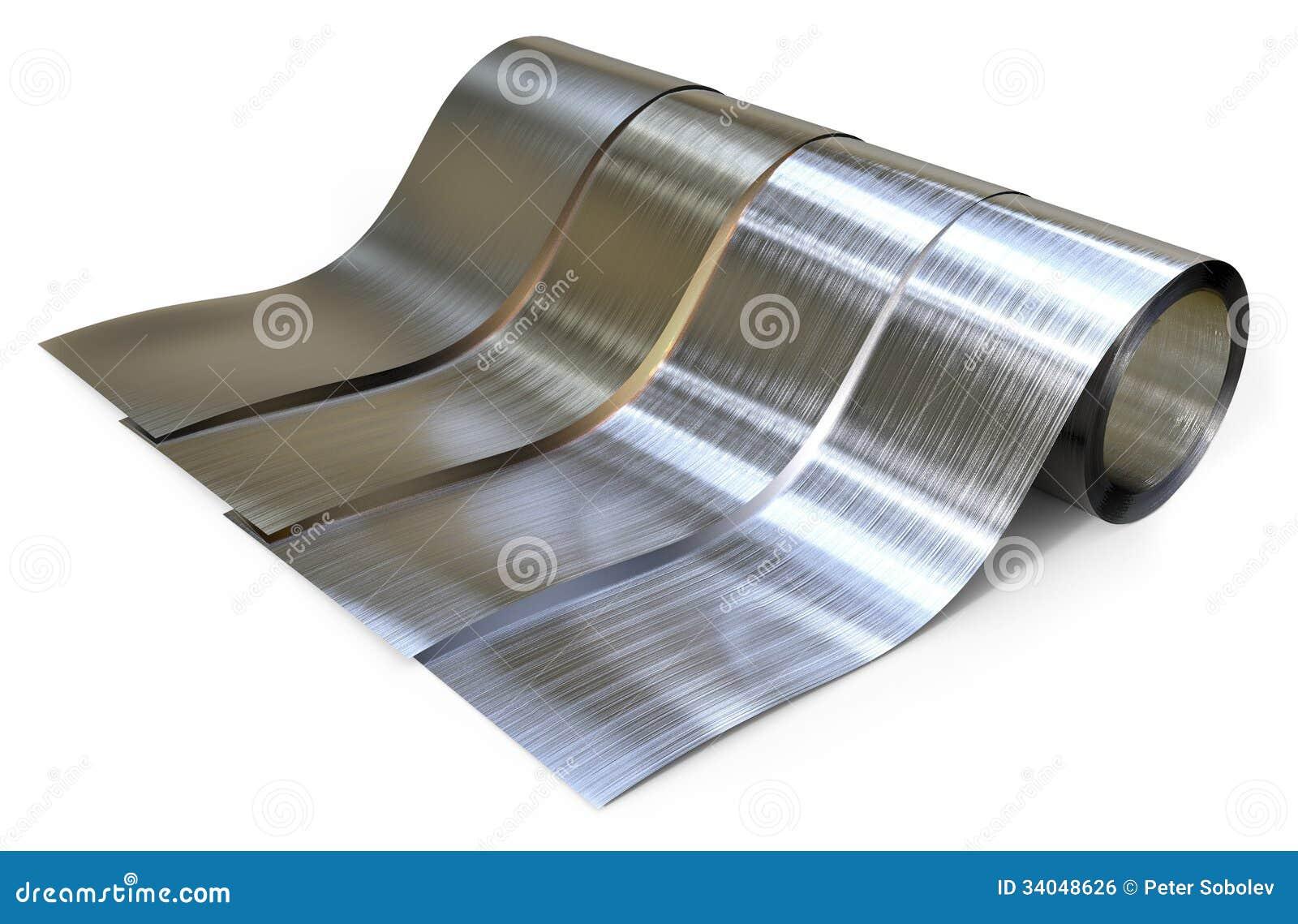 Rolls da folha de metal