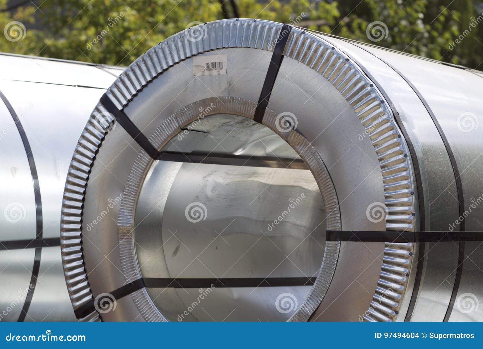 Rolls di acciaio galvanizzato laminato a freddo con il rivestimento del polimero