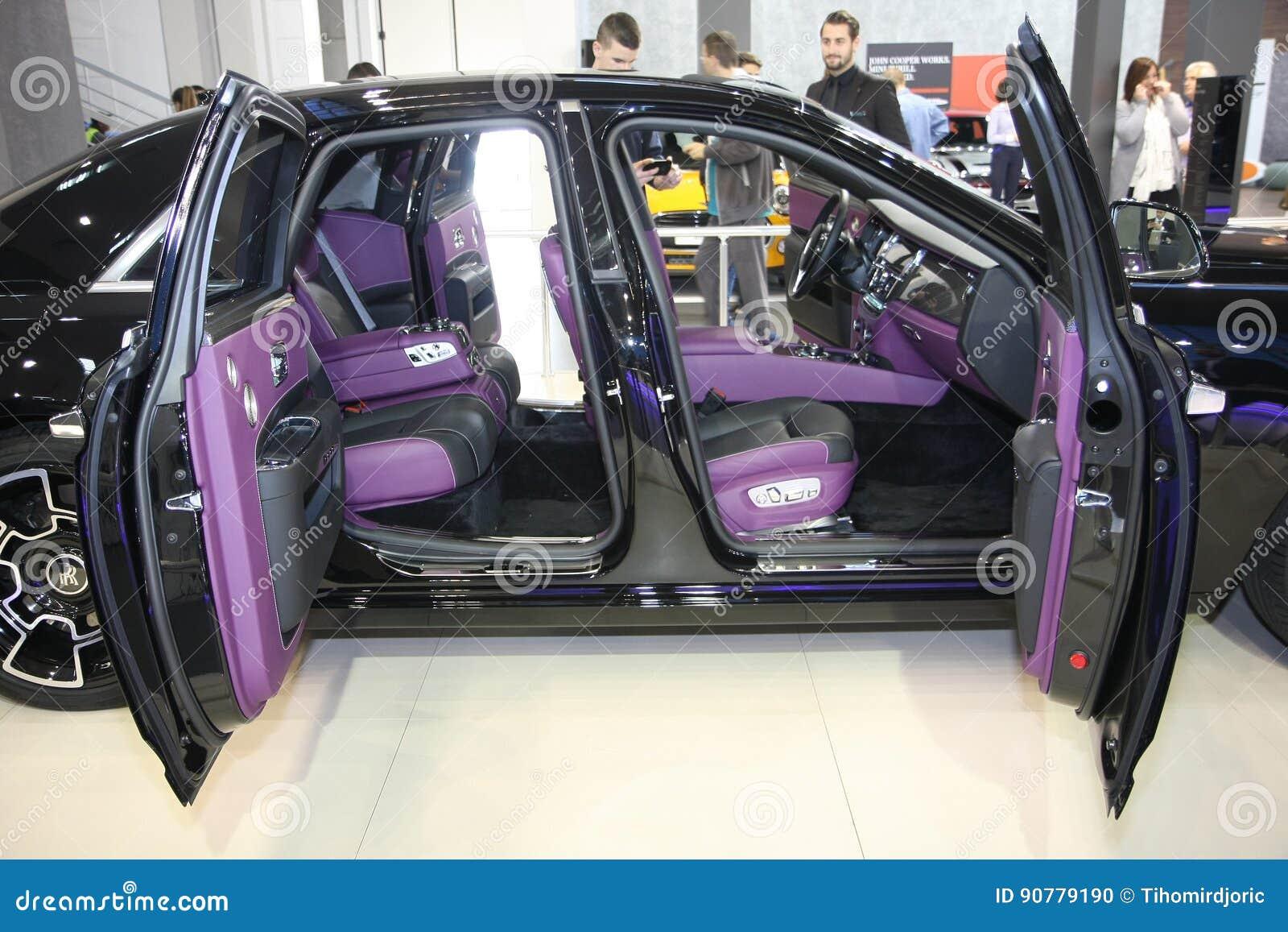 Rolls Royce At Belgrade Car Show Editorial Image Image Of Fair Technology 90779190