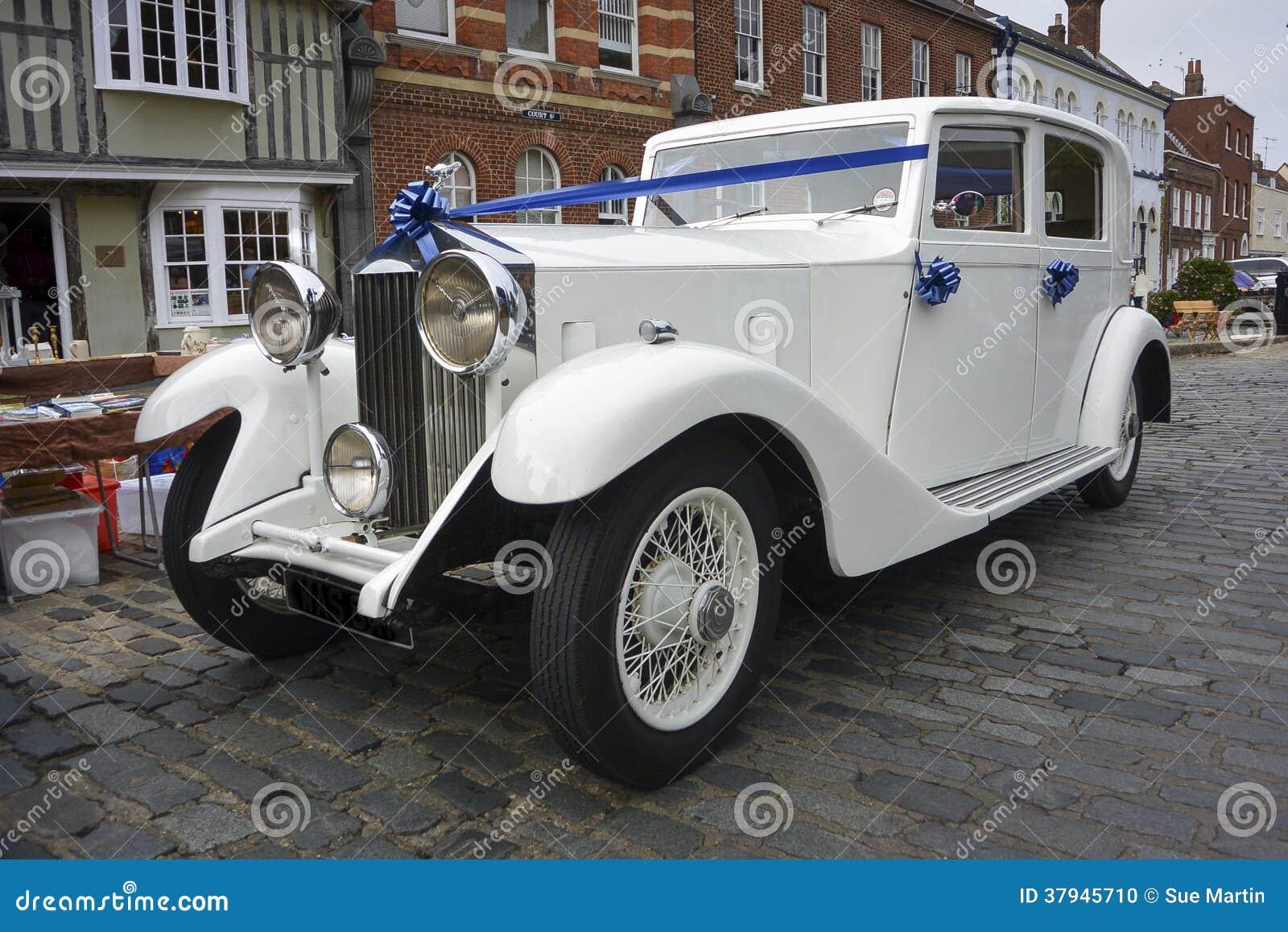 Rolls Royce branco