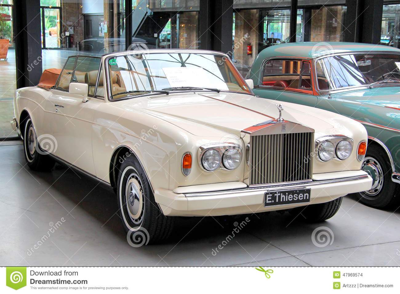 rolls royce corniche editorial stock image image of expensive 47969574. Black Bedroom Furniture Sets. Home Design Ideas