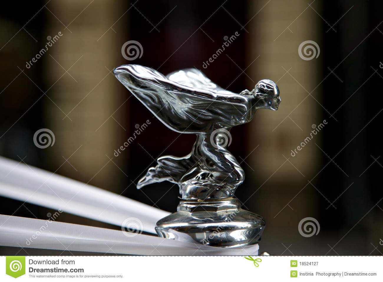 rolls royce emblem on car editorial photography image of black