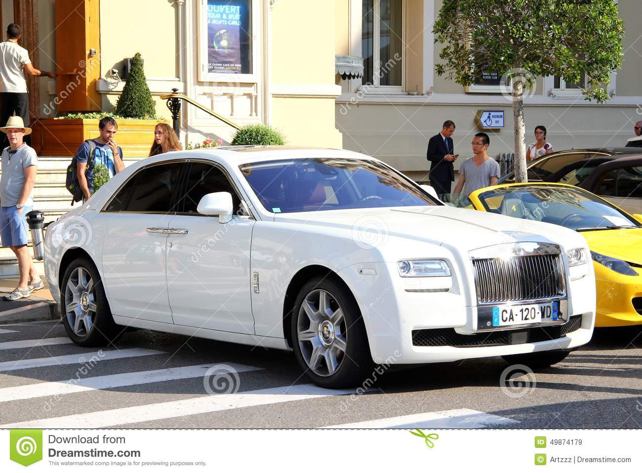 rolls royce ghost editorial stock image image of comfort 49874179