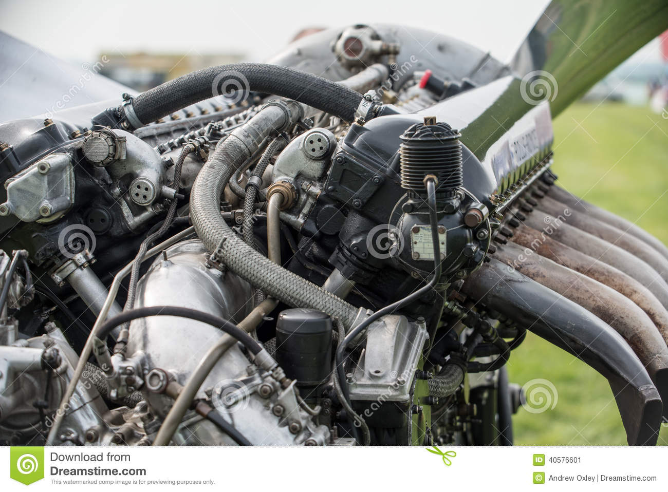Rolls Royce Merlin Aero Engine Editorial Photo - Image ...