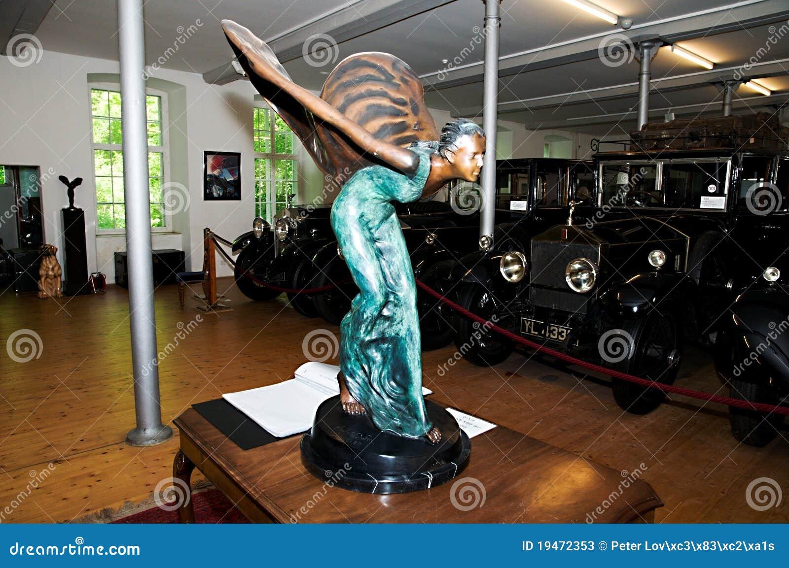 rolls royce museum  dornbirn  rolls royce car logo editorial stock photo   image 19472353
