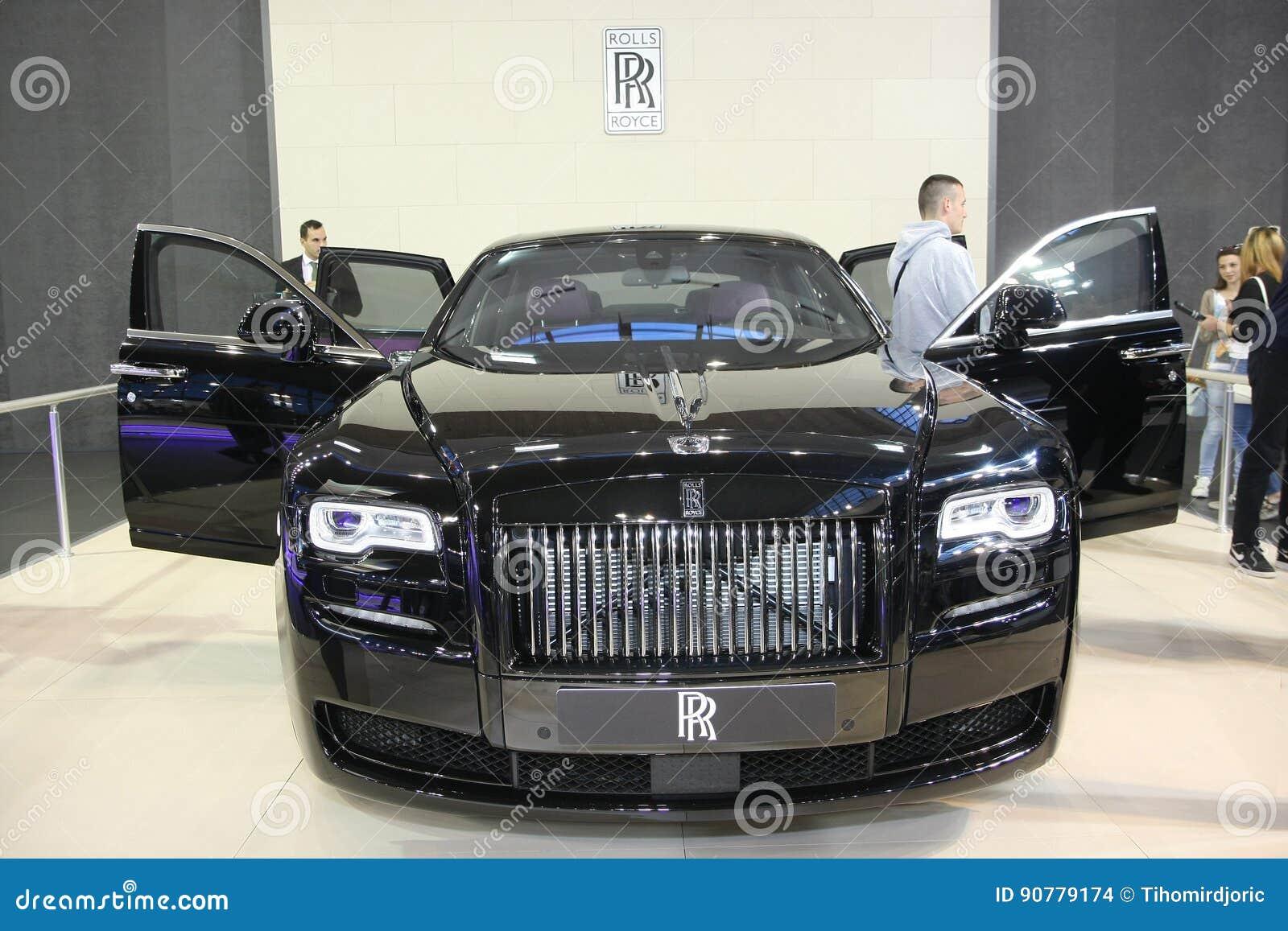 Rolls Royce no Car Show de Belgrado