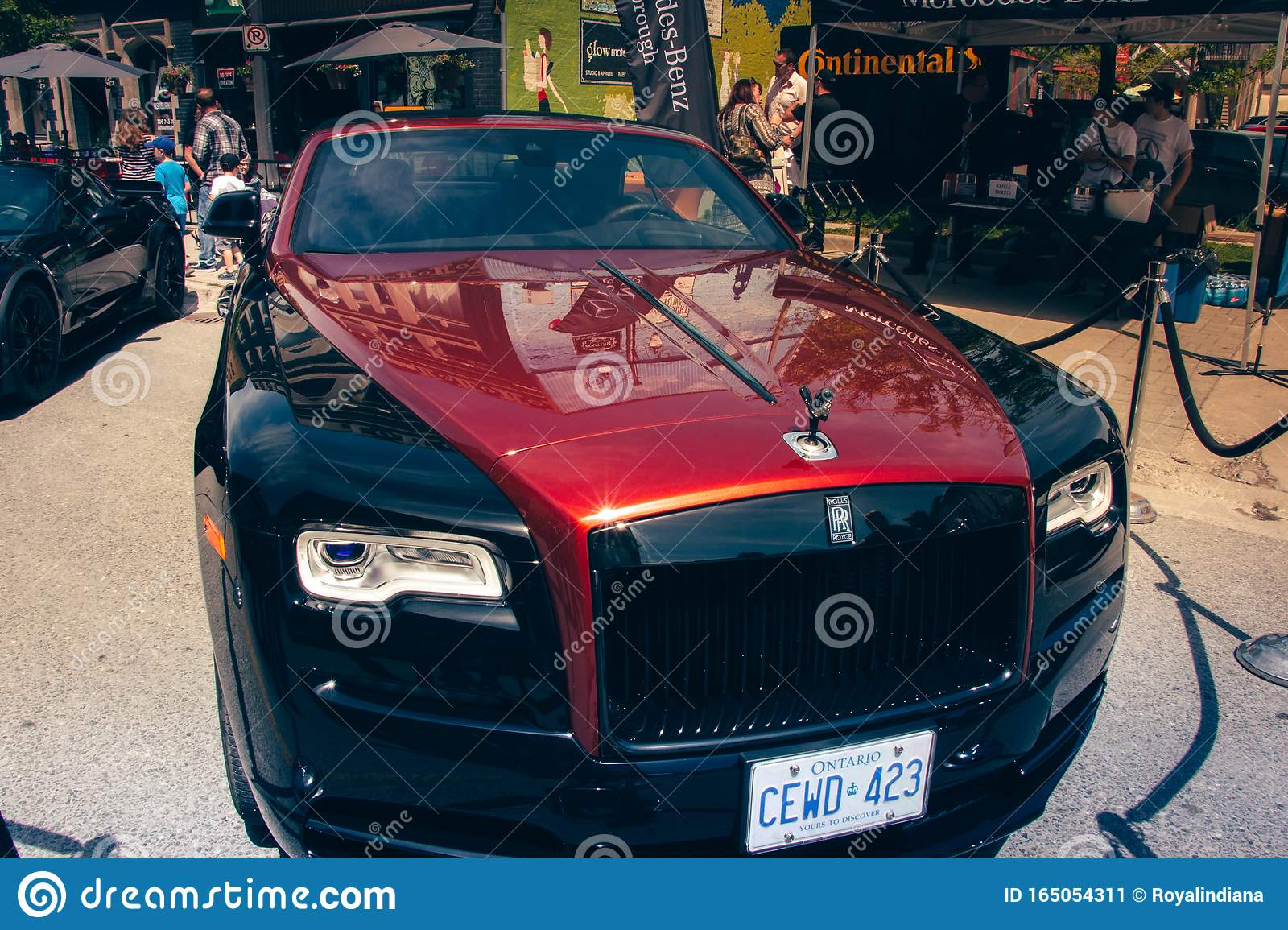Rolls Royce Phantom Black And Red Editorial Photo Image Of Business Show 165054311
