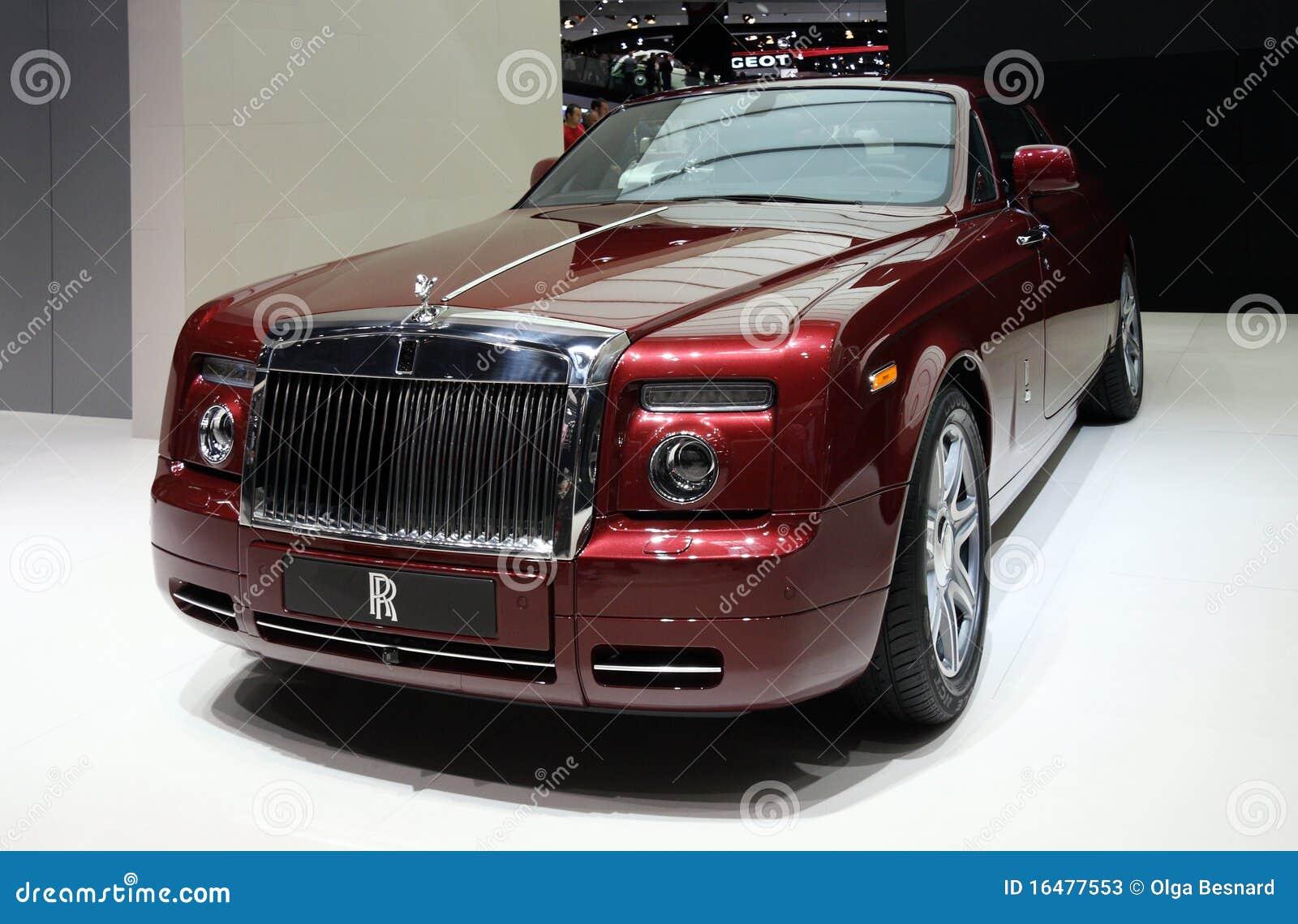 Rolls royce phantom coupe at paris motor show editorial for Rolls royce phantom motor