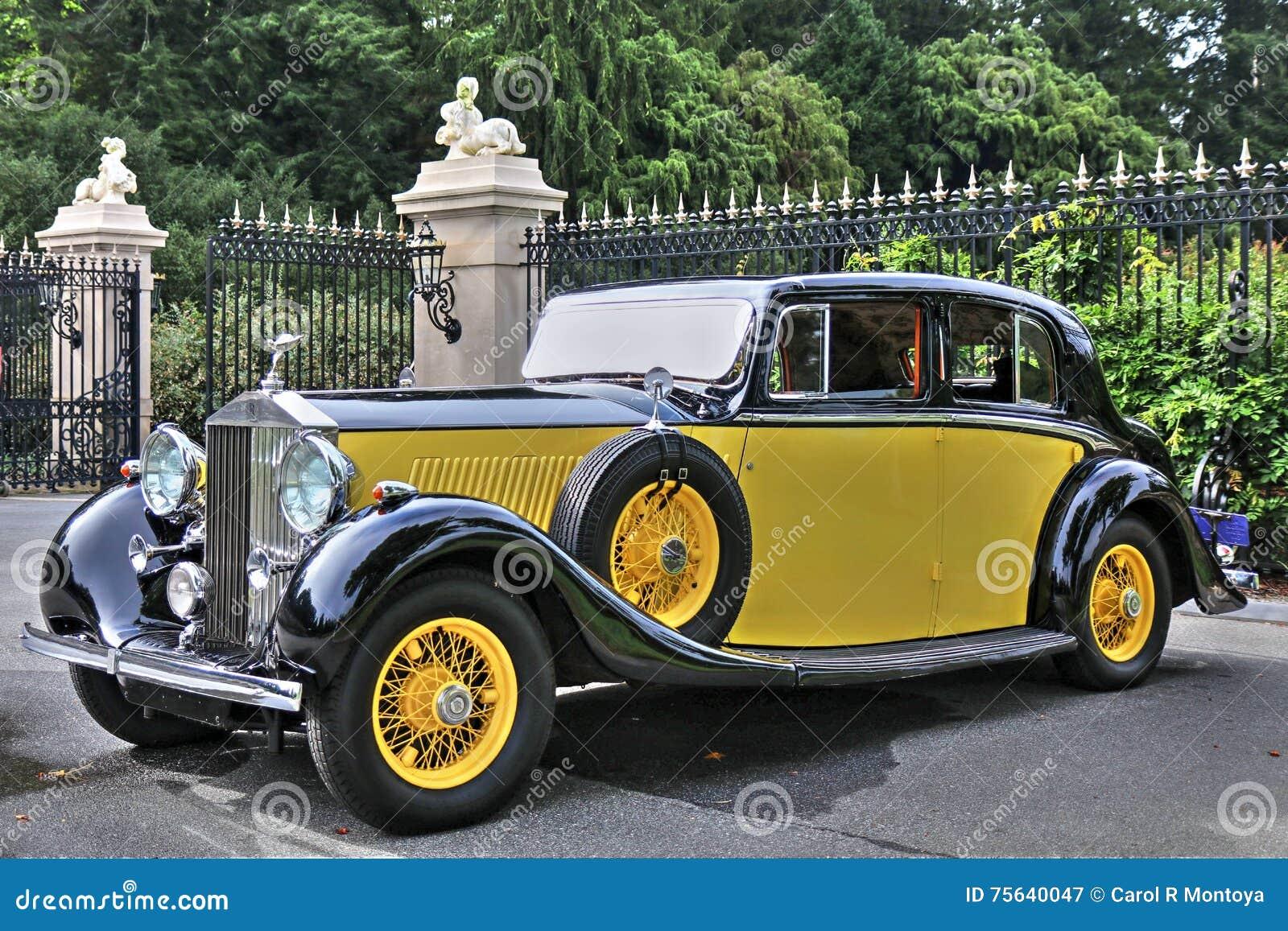1934 Rolls Royce Phantom II i guling