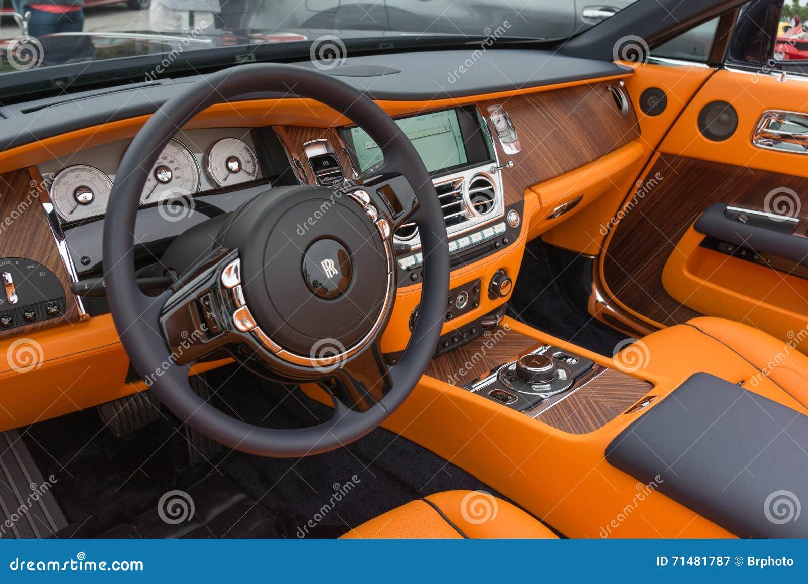 rolls royce phantom interior editorial photography image of auto luxury 71481787 dreamstime com