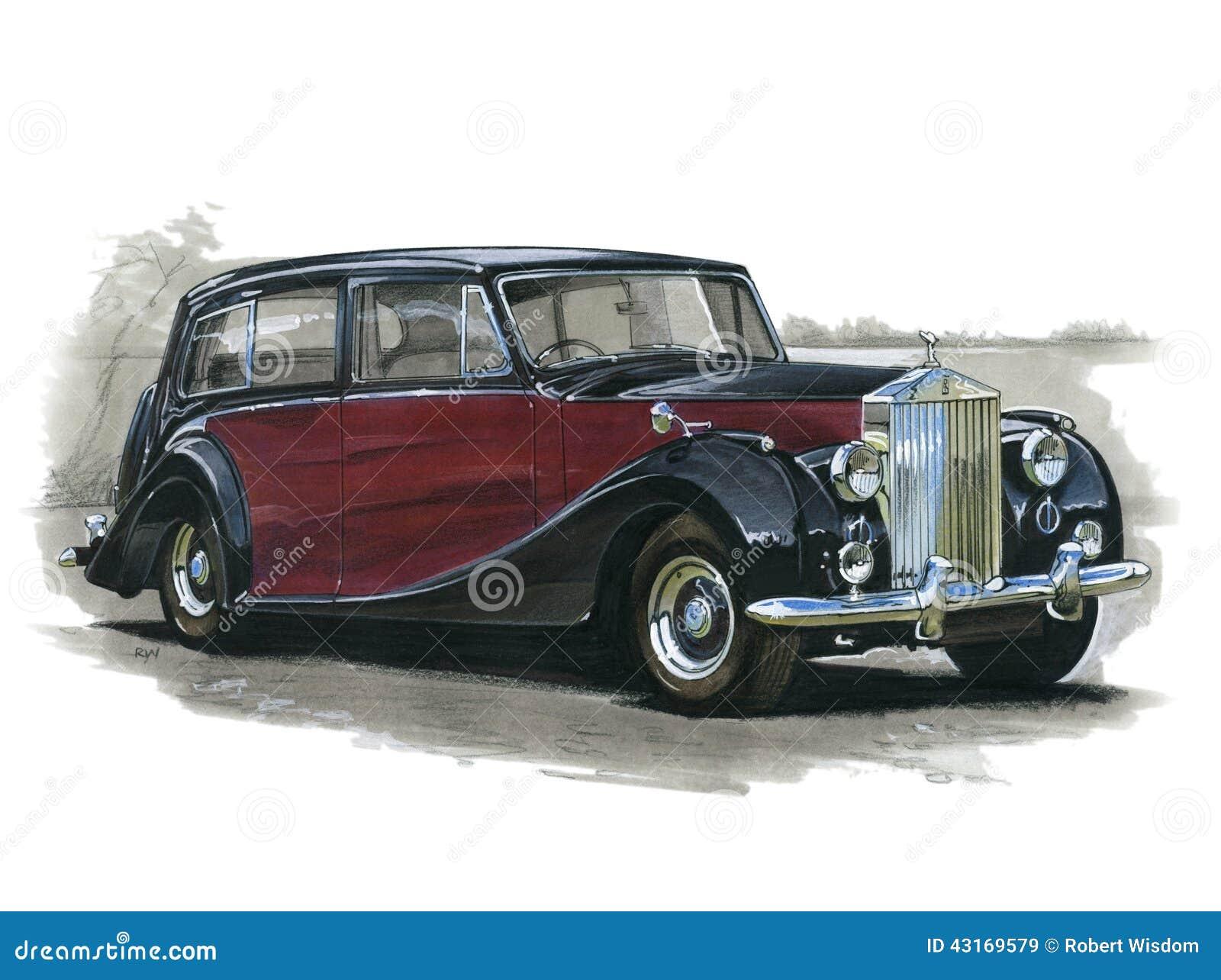 Rolls Royce Silver Wraith Editorial Photo   CartoonDealer ...