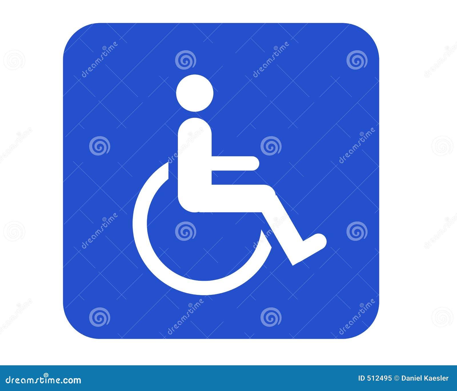 Rollstuhlzeichen