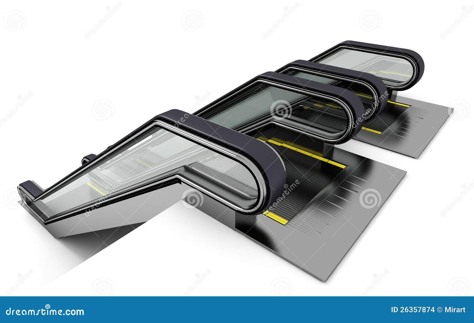 Rolltreppe zwei