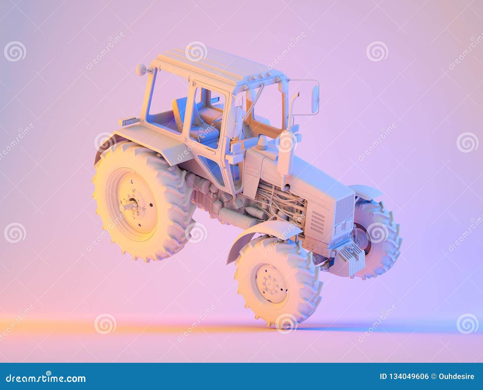Rolniczy rodzajowy ciągnik