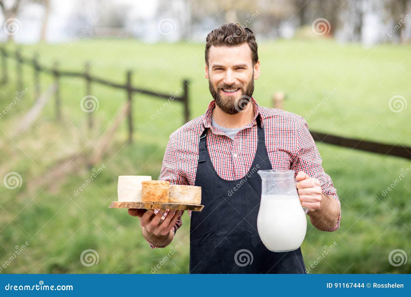Rolnik z serem i mlekiem