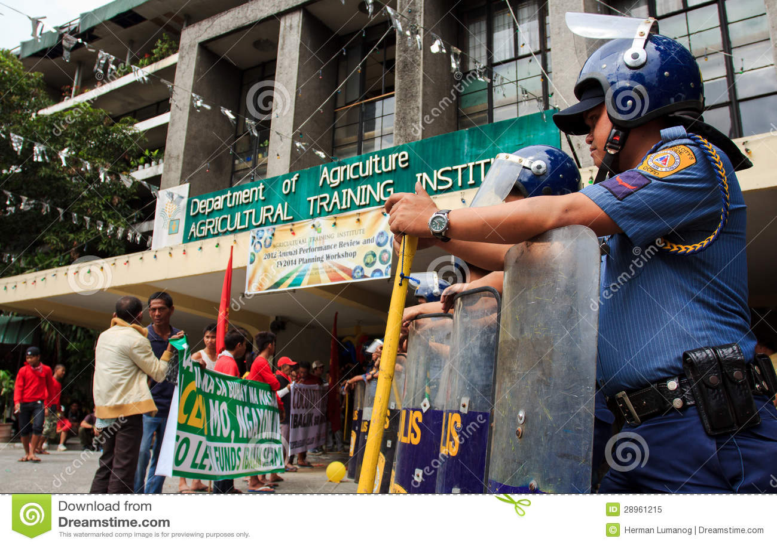 Rolnika protest w Manila, Filipiny