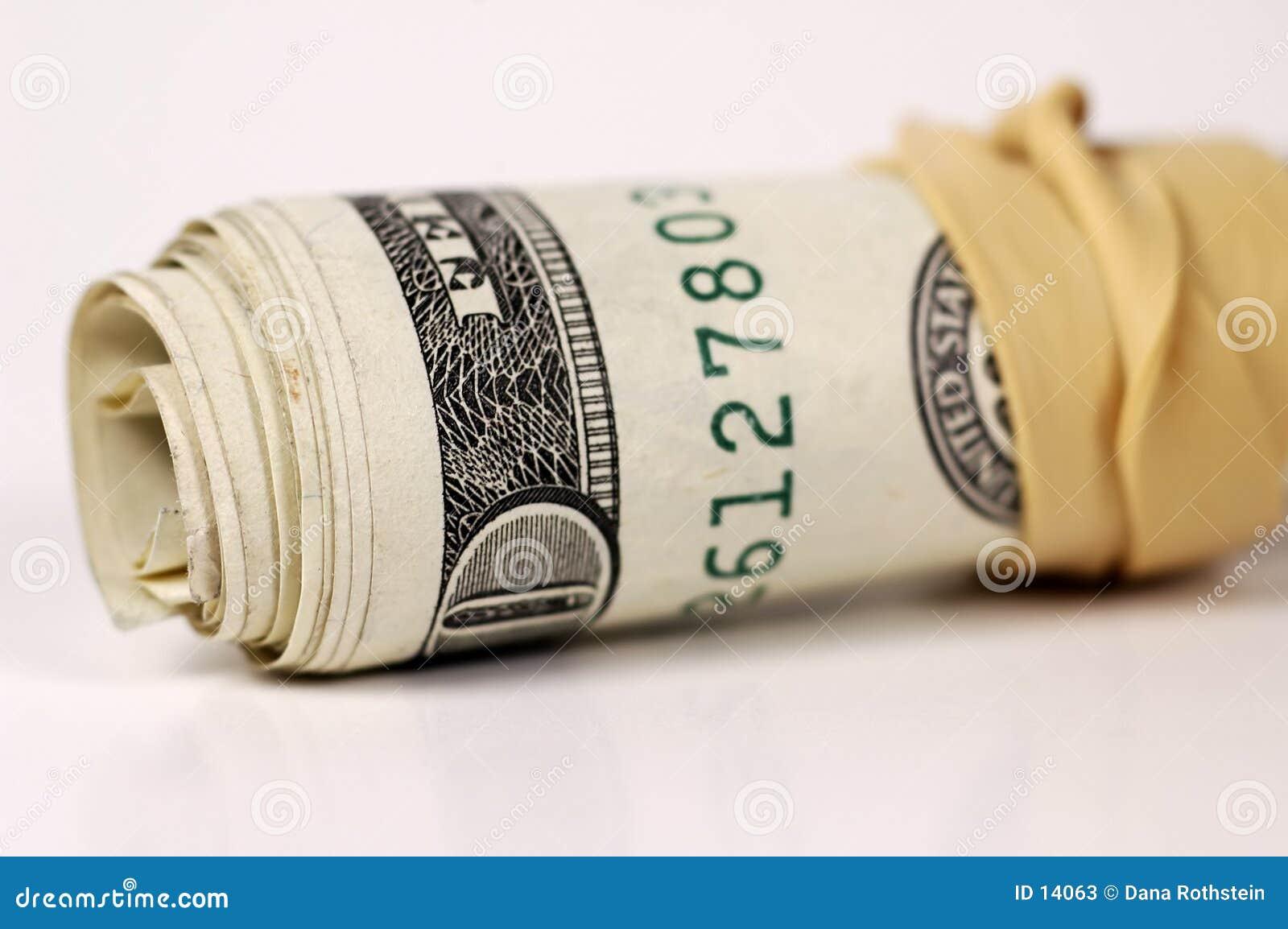Rolo 2 do dinheiro