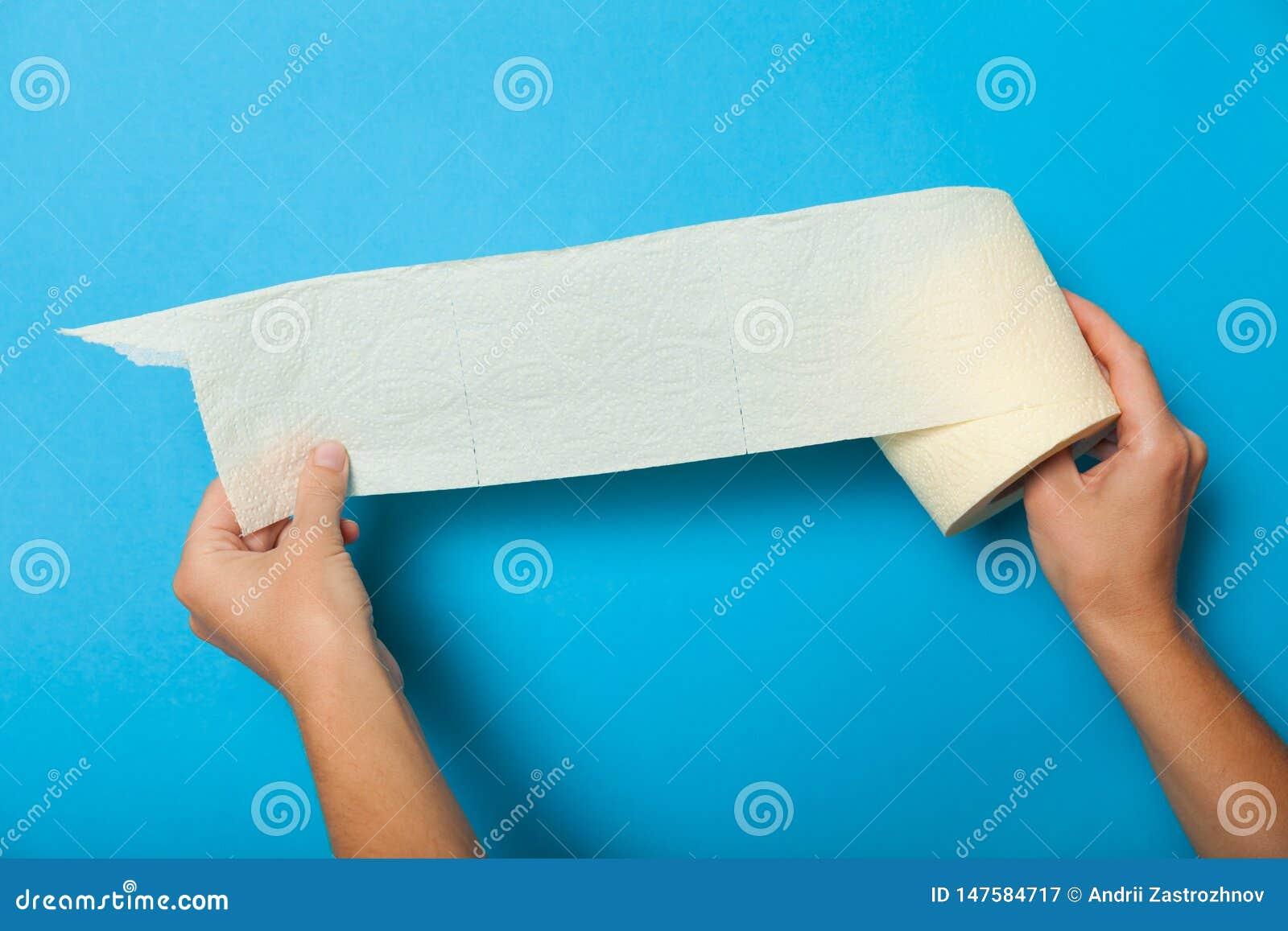 Rolo de toalete do Livro Branco, tecido da higiene WC sanit?rio di?rio