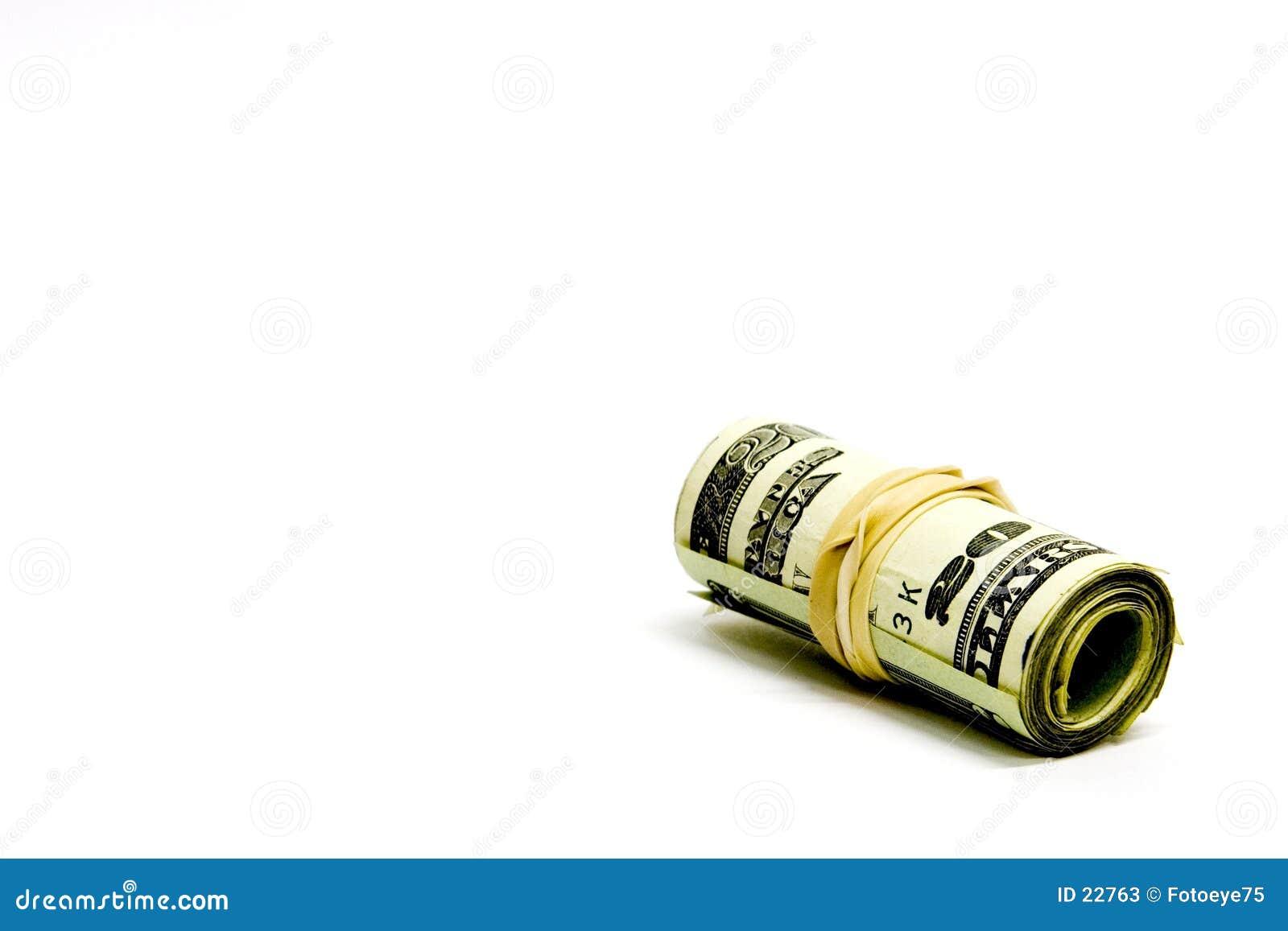 Rolo do dinheiro