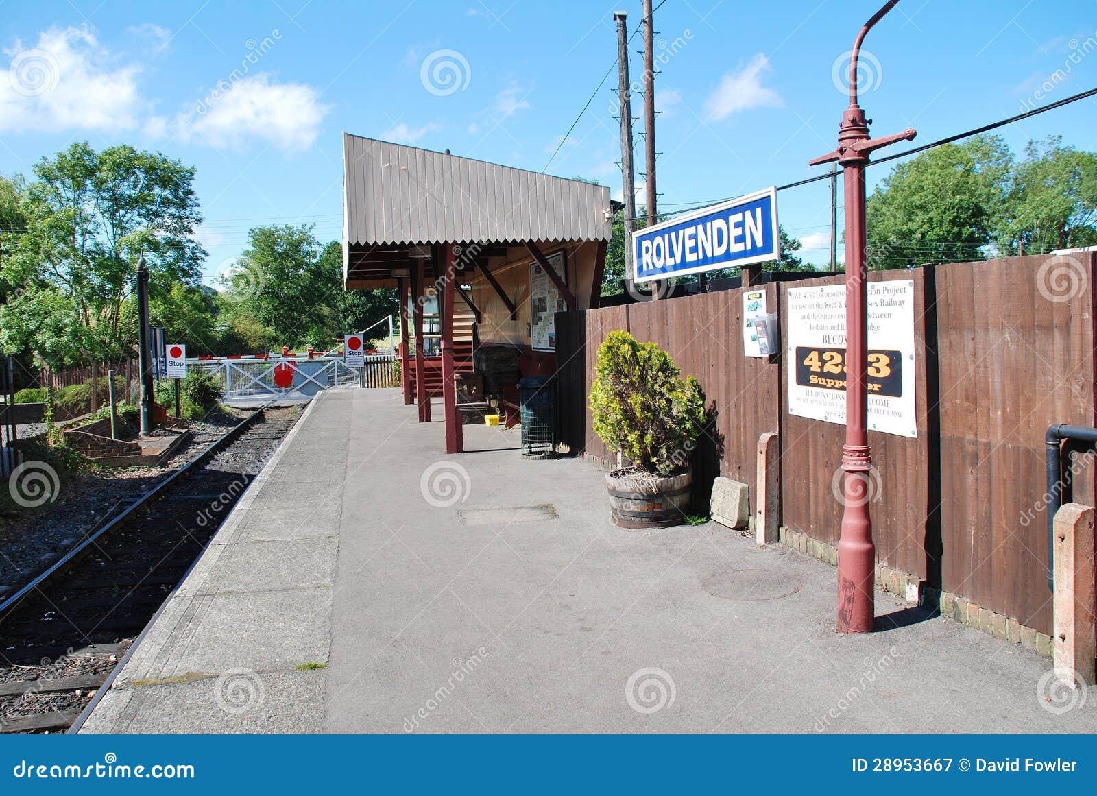 Rolvenden stacja kolejowa, Anglia