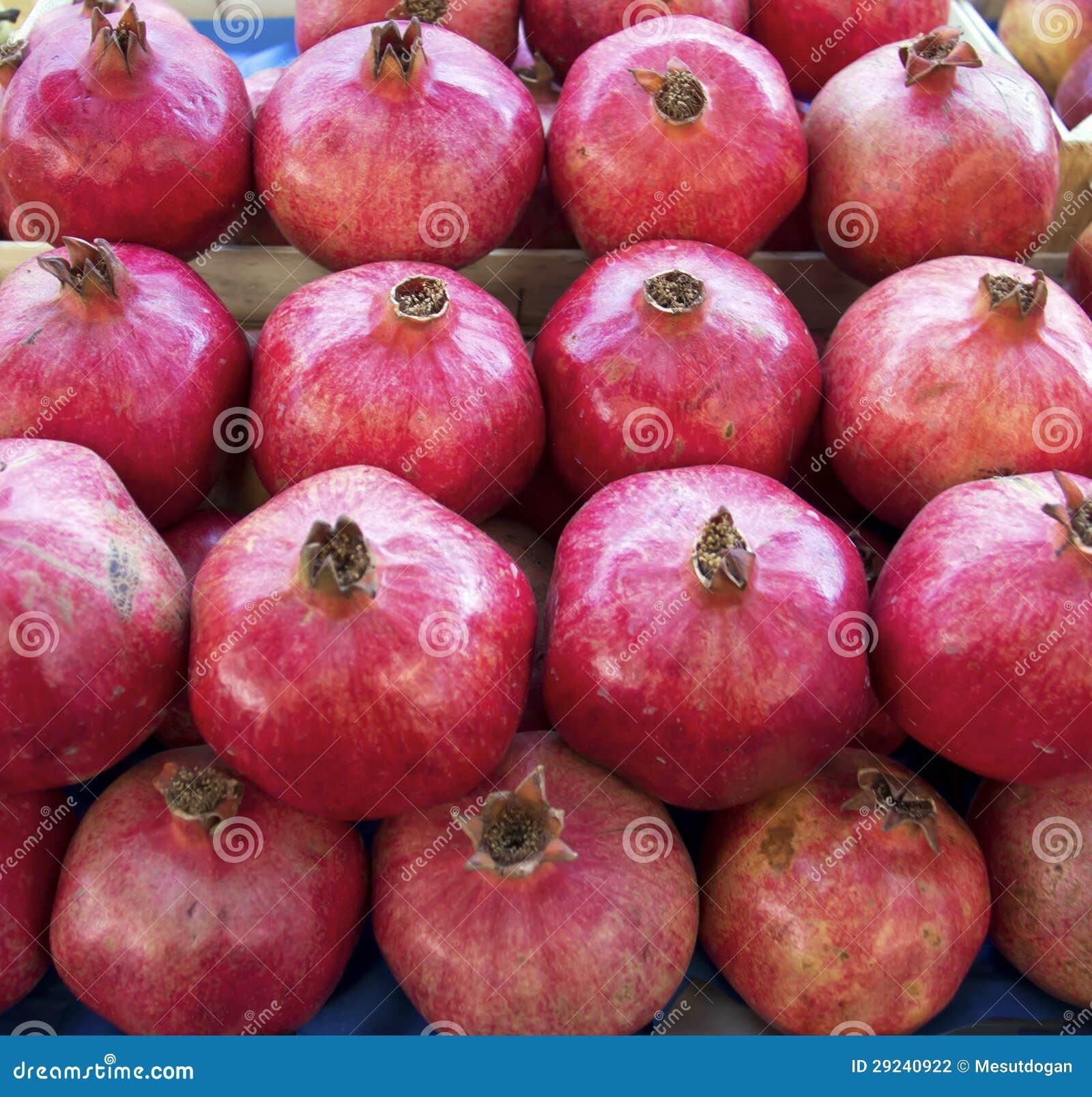 Download Romã foto de stock. Imagem de bazaar, jardim, cozinhar - 29240922