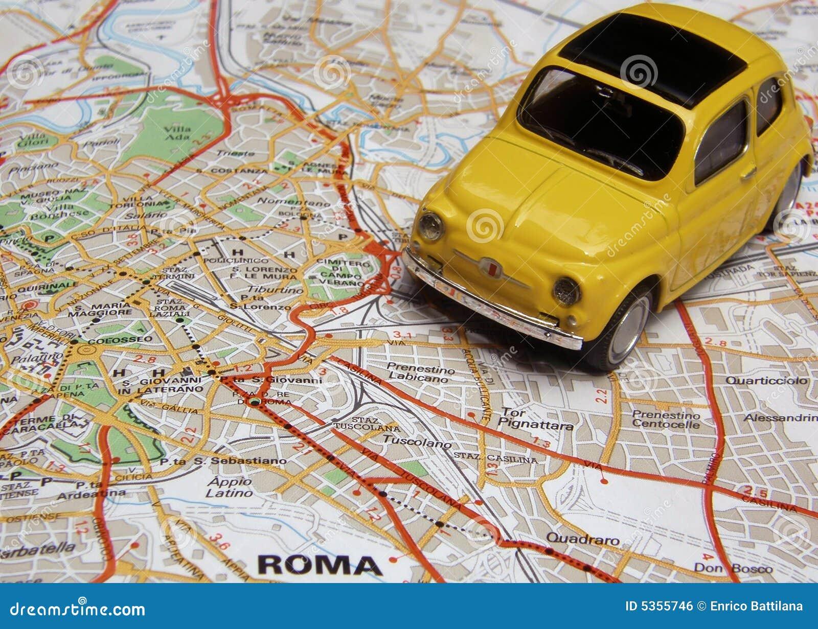 Rom durch Car