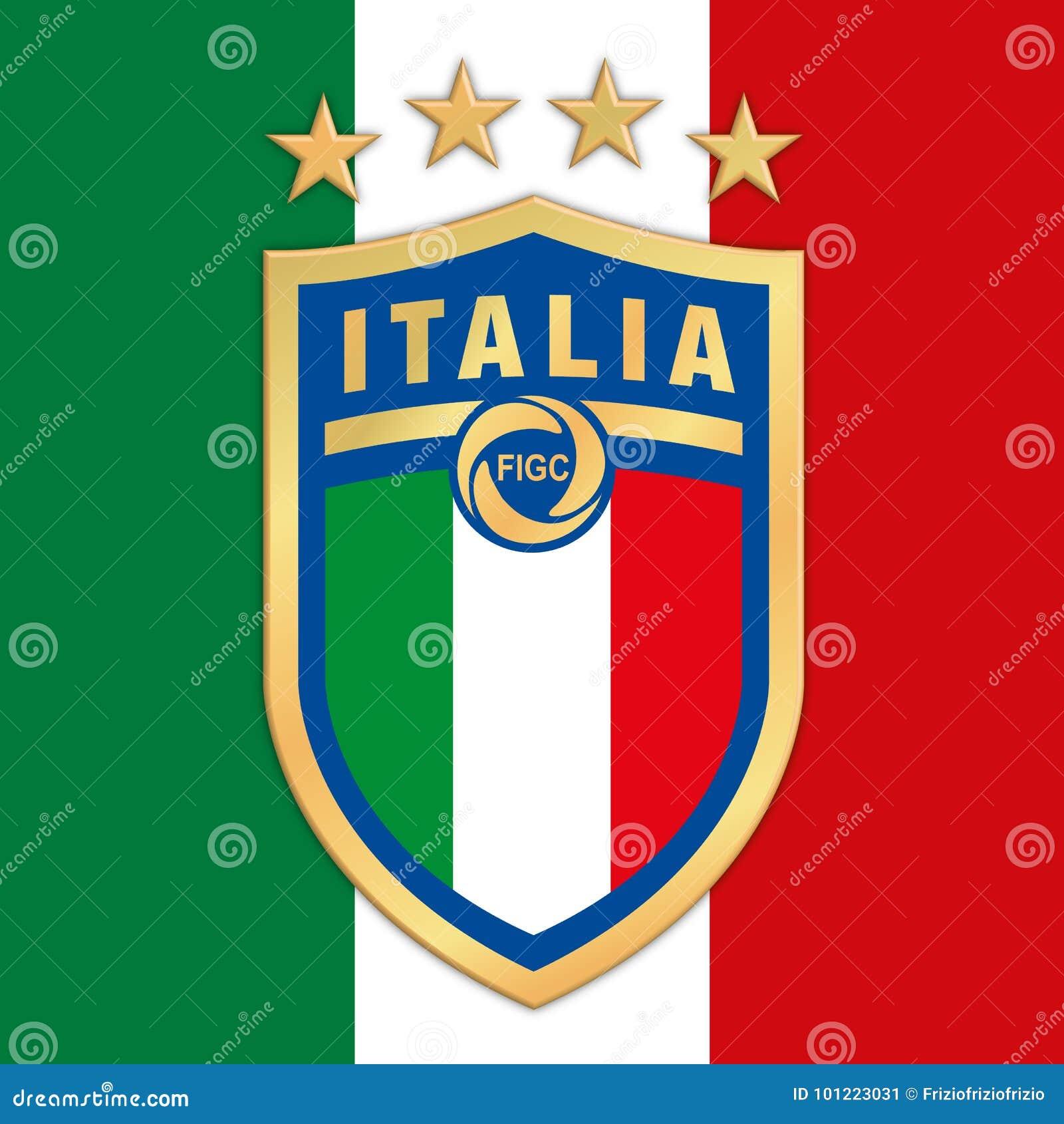 Rom Italien Jahr 2017 Neues Logo Italienische Fussball