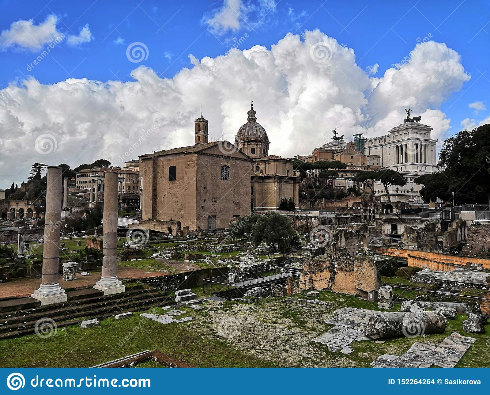 Romański forum w Roma