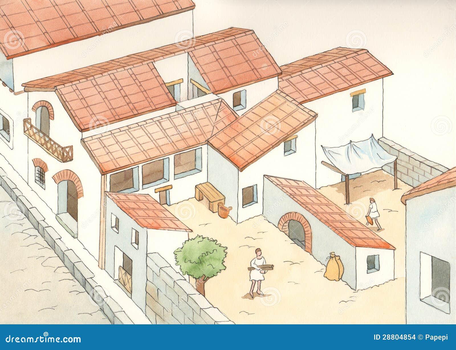 Roma Antigua Imagenes de archivo - Imagen: 28804854