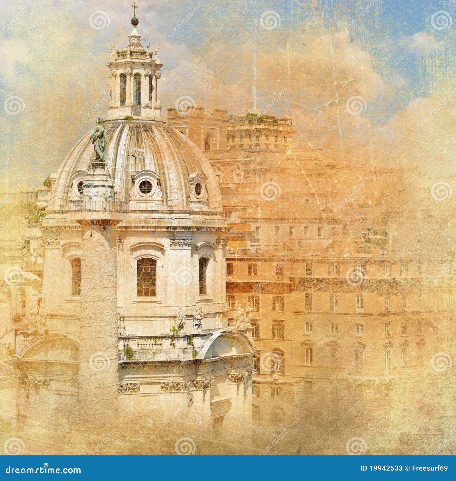 Roma, arquitetura