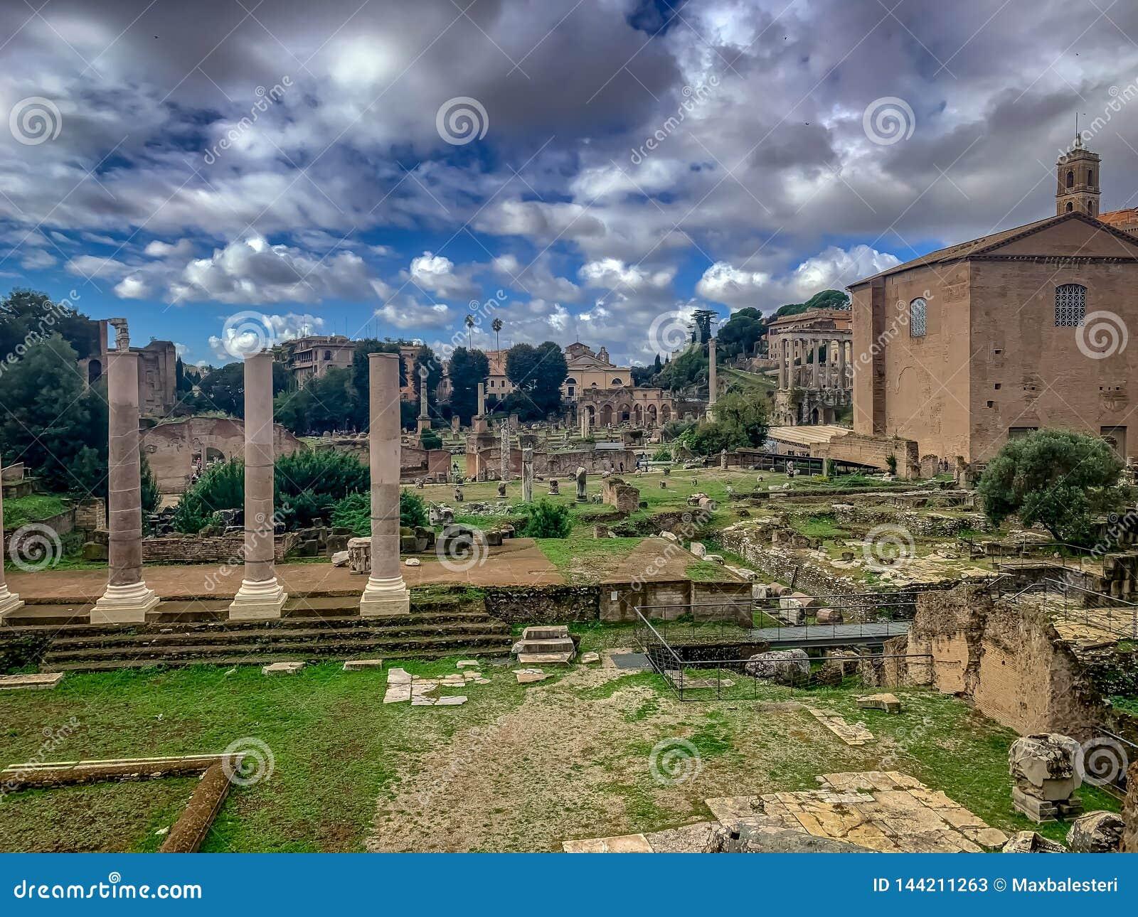 A Roma belamente encantador Itália