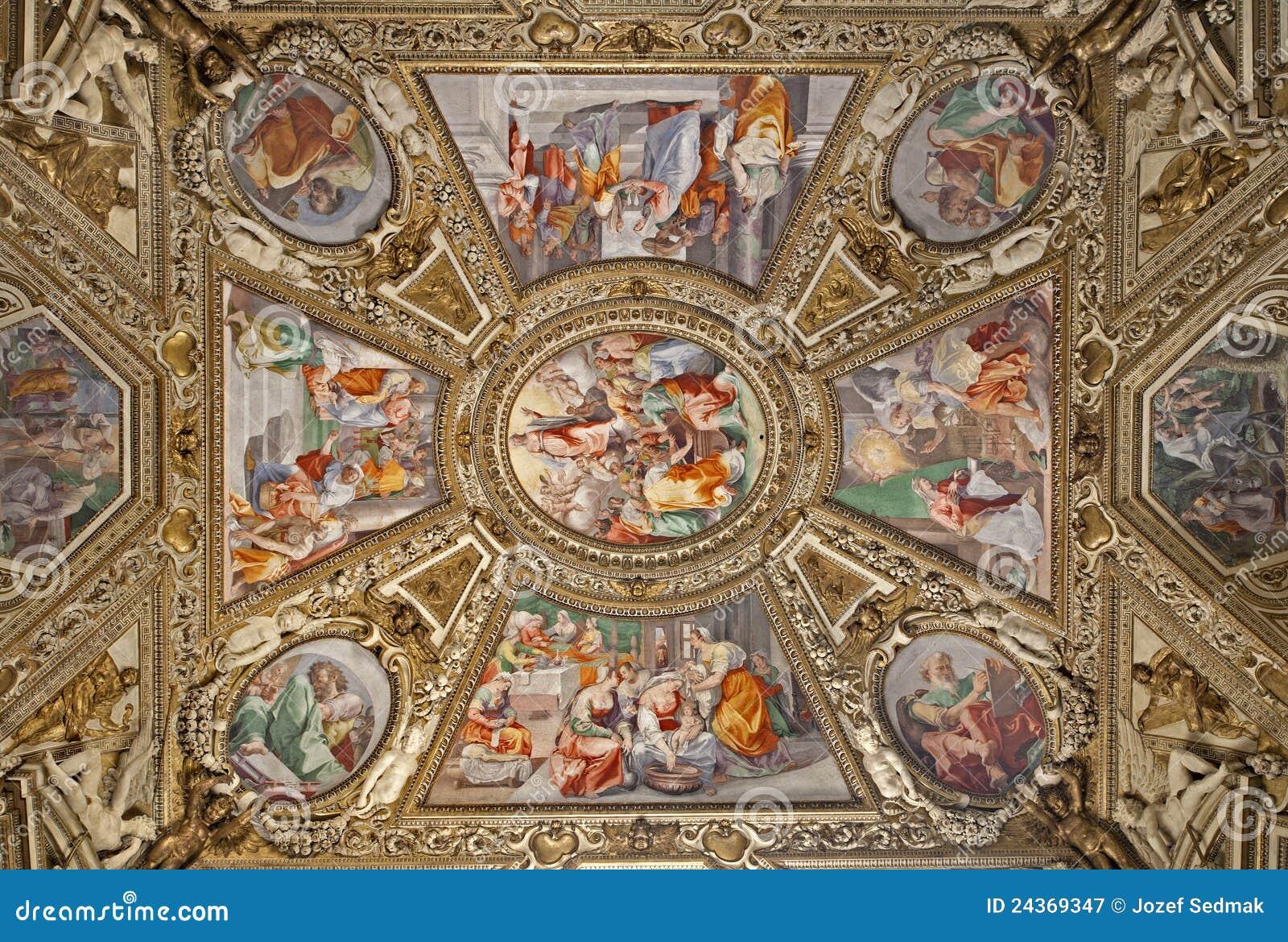 Roma - capilla lateral - basílica de Santa María Maggiore