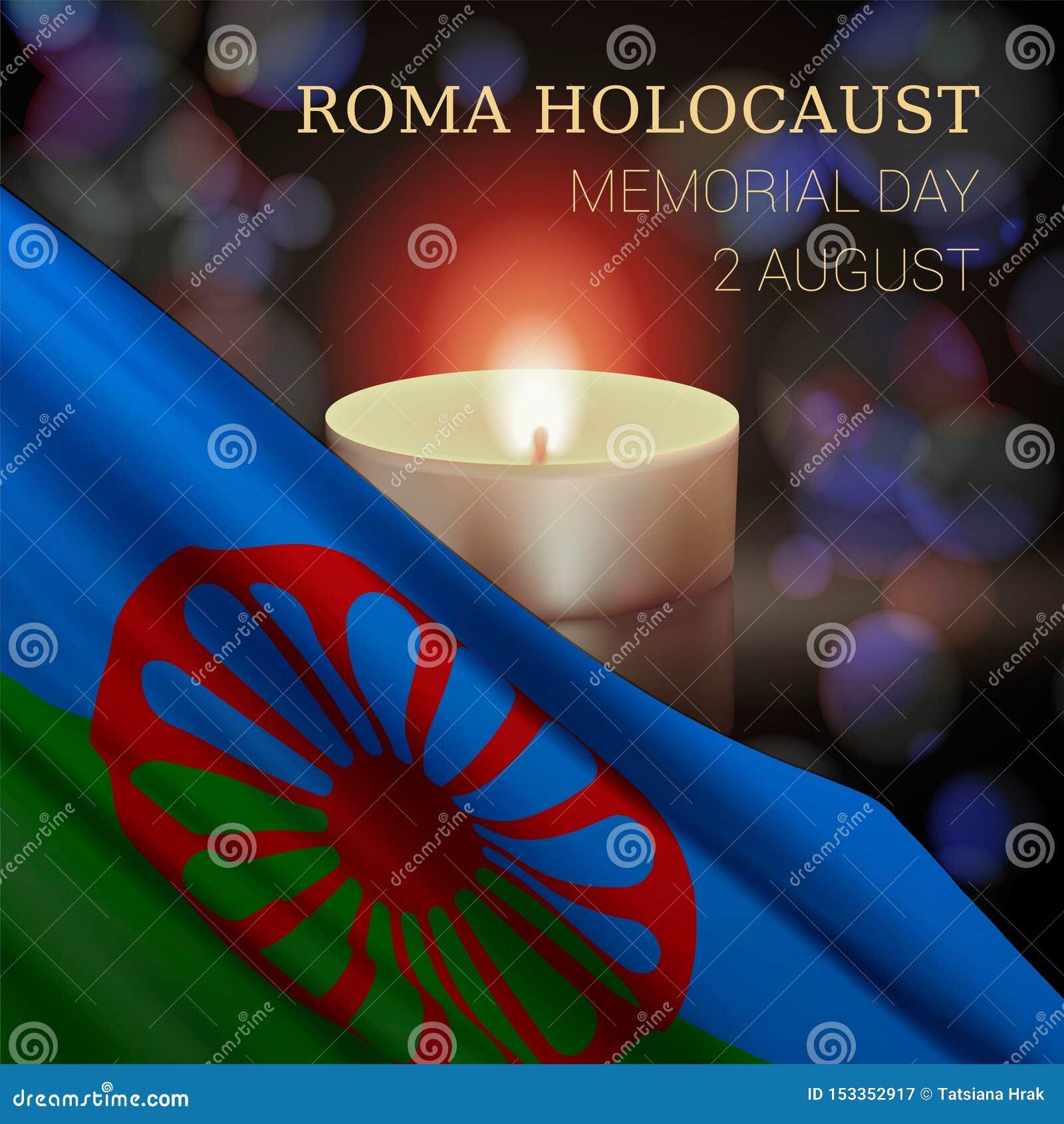 Roma holokaust Memorial Day, Sierpień 2