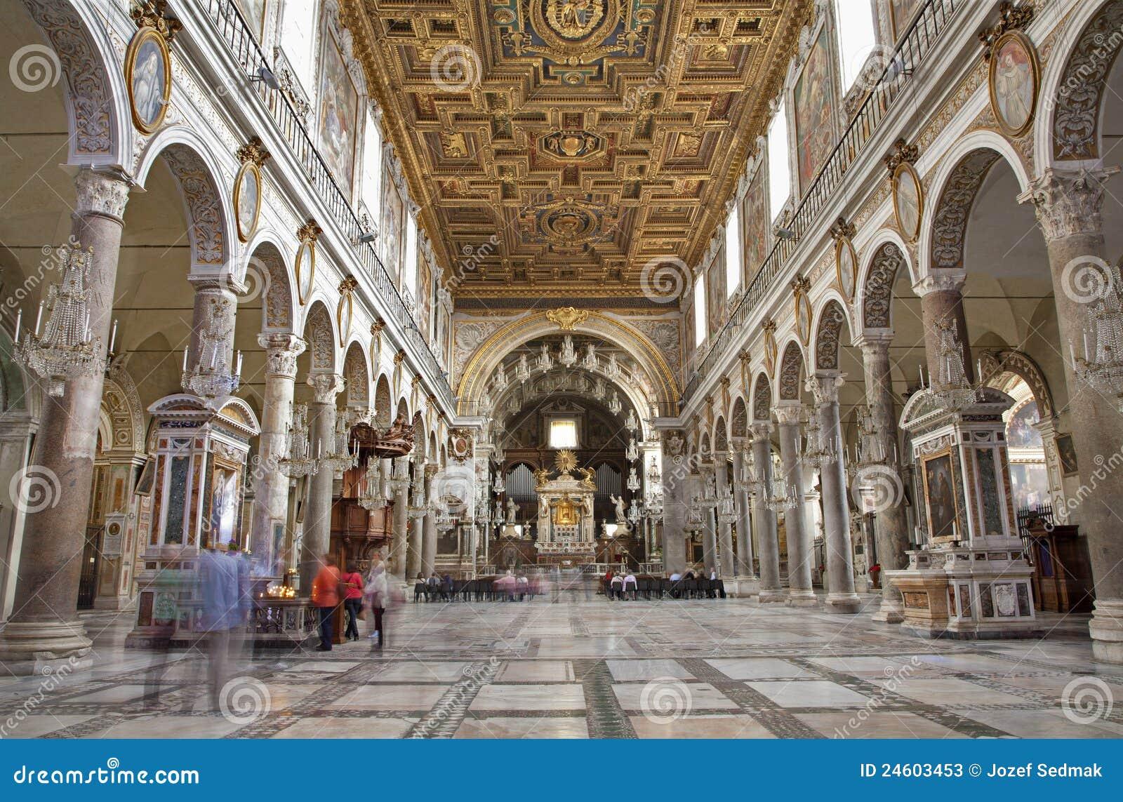 Roma Interior De La Iglesia Santa Mar A Aracoeli Fotos