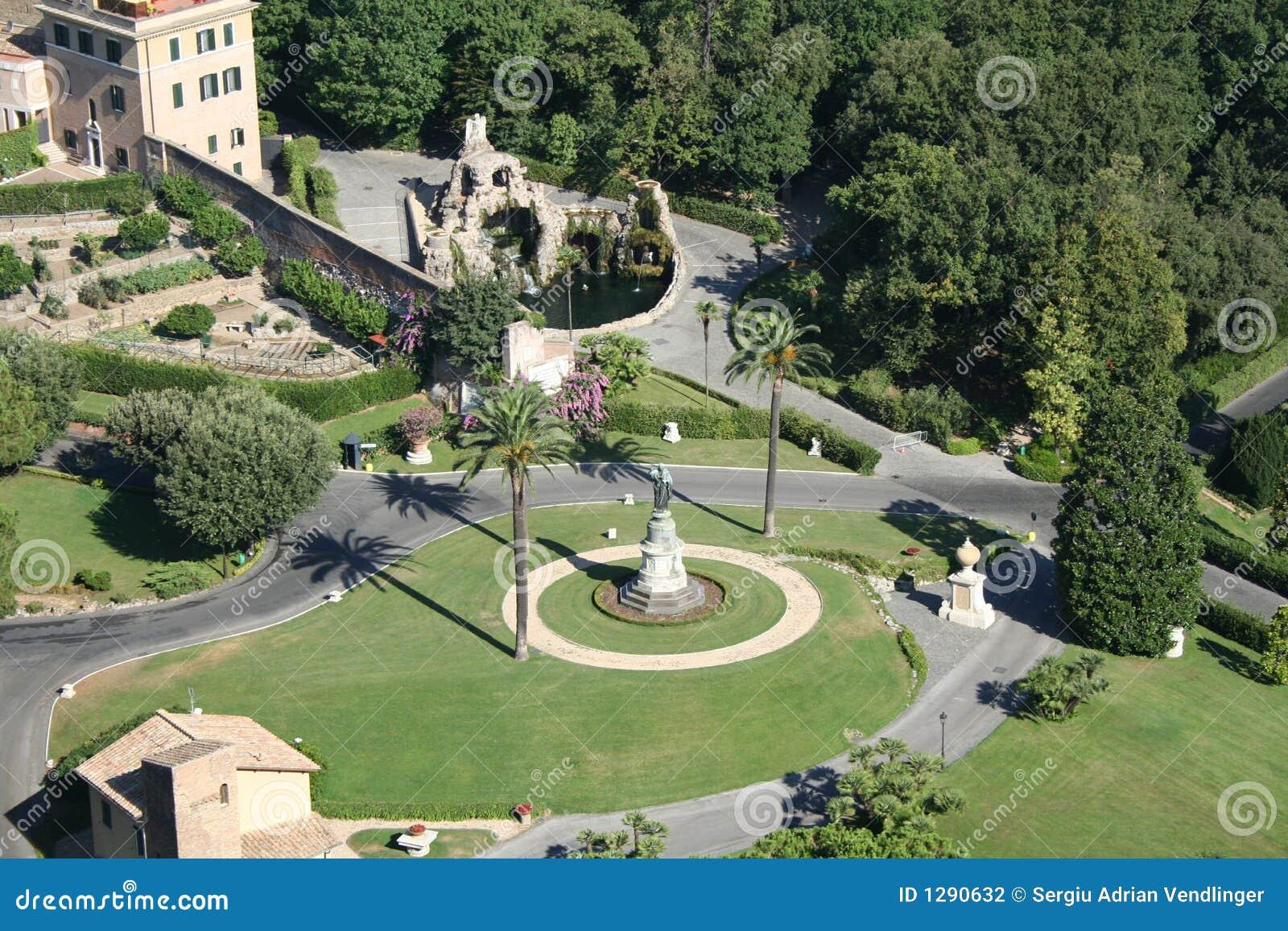 Roma, jardín