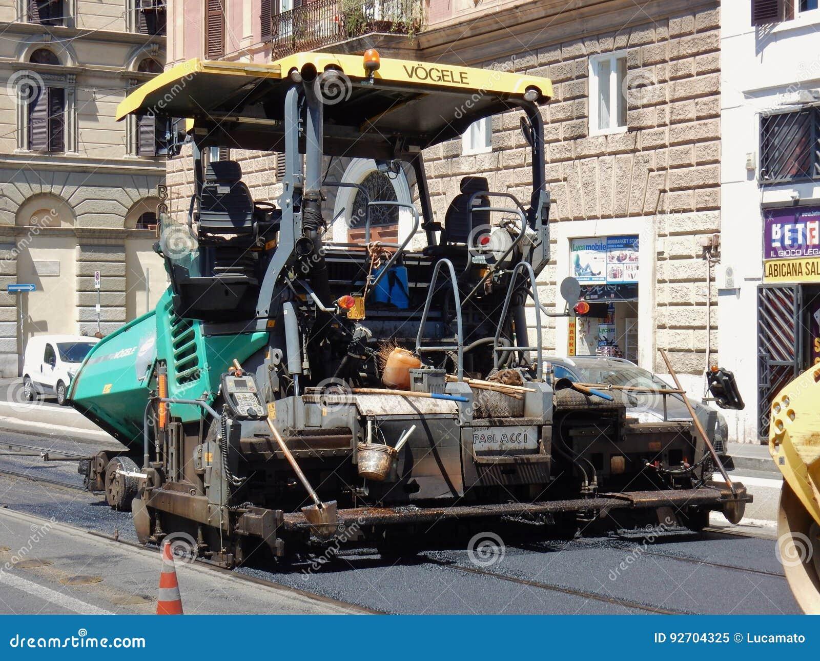 Roma - máquina de revestimento